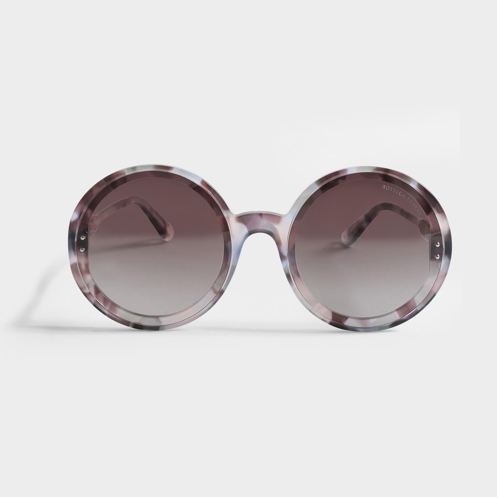 Bottega Veneta Multi Treatment Sonnenbrille aus Havana Acetat l3vp6xz