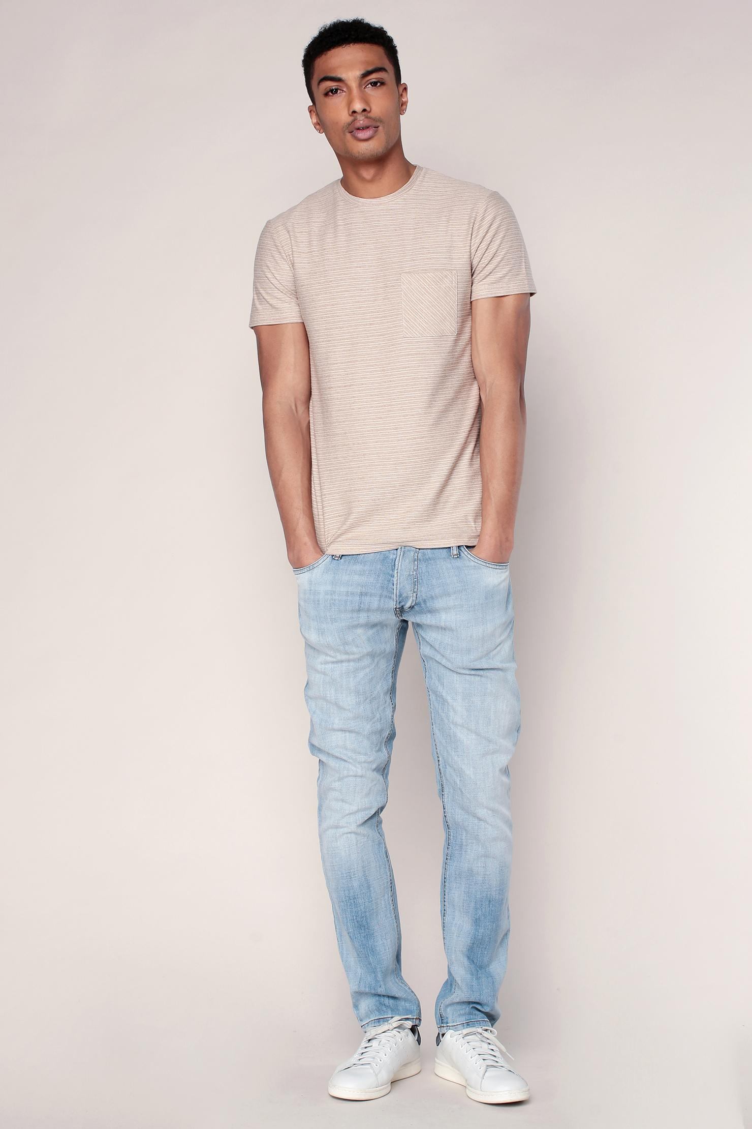 034444f4f7e Lyst - Selected T-shirt in White for Men