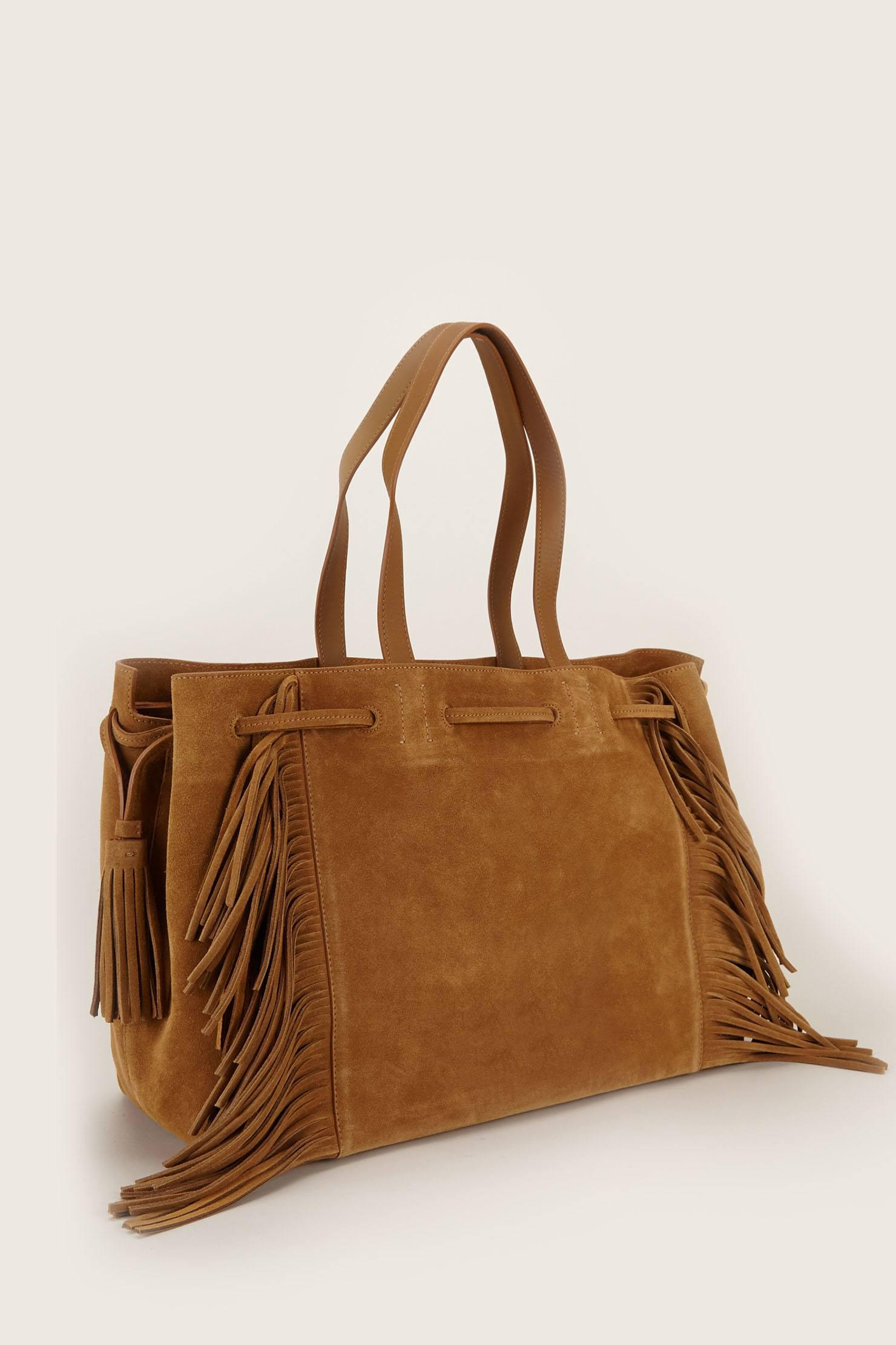 Only You Tote Bag in Tan Leather Gerard Darel xpba4QTm41