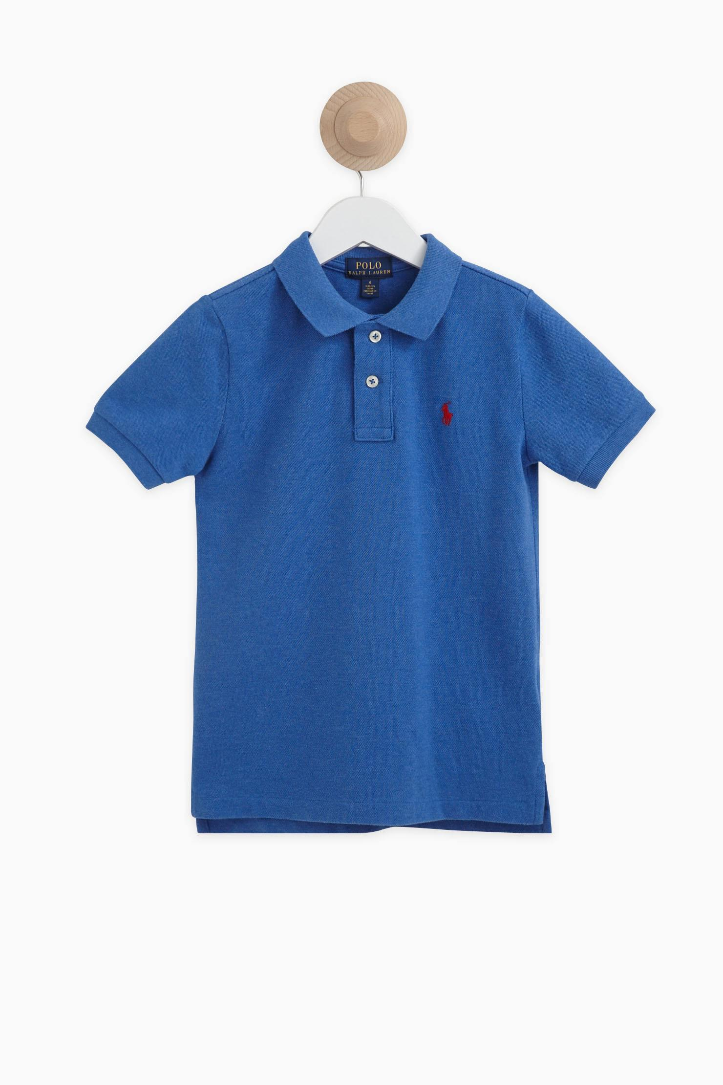 lyst polo ralph lauren t shirt polo shirt in blue for men. Black Bedroom Furniture Sets. Home Design Ideas