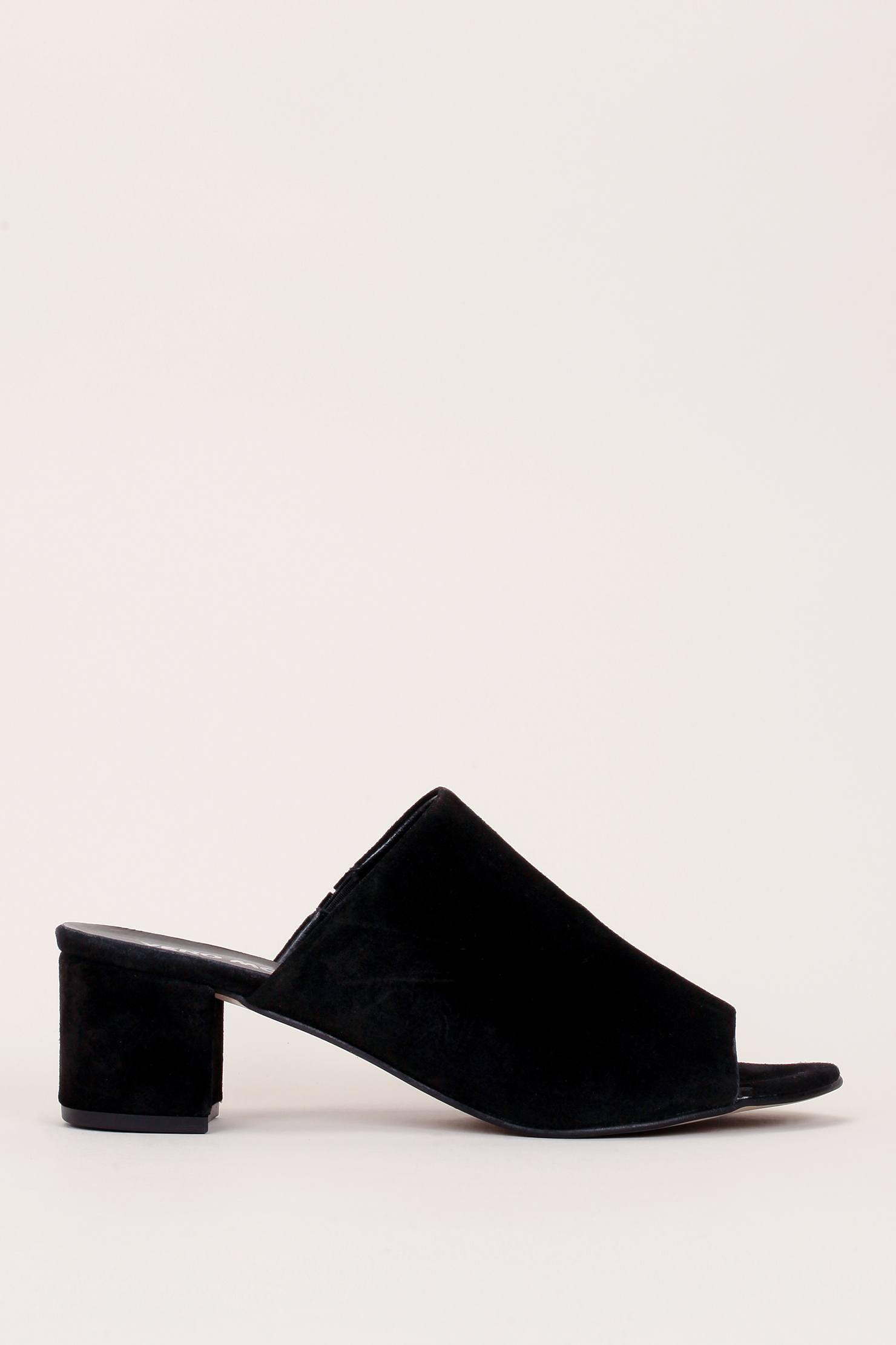 Vero Moda Real leather heeled mules SxwPOL