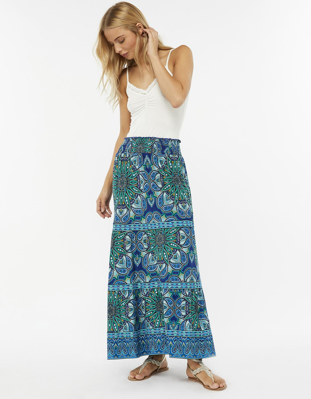 8dd3b21355 Gallery. Previously sold at: Monsoon · Women's Printed Skirts
