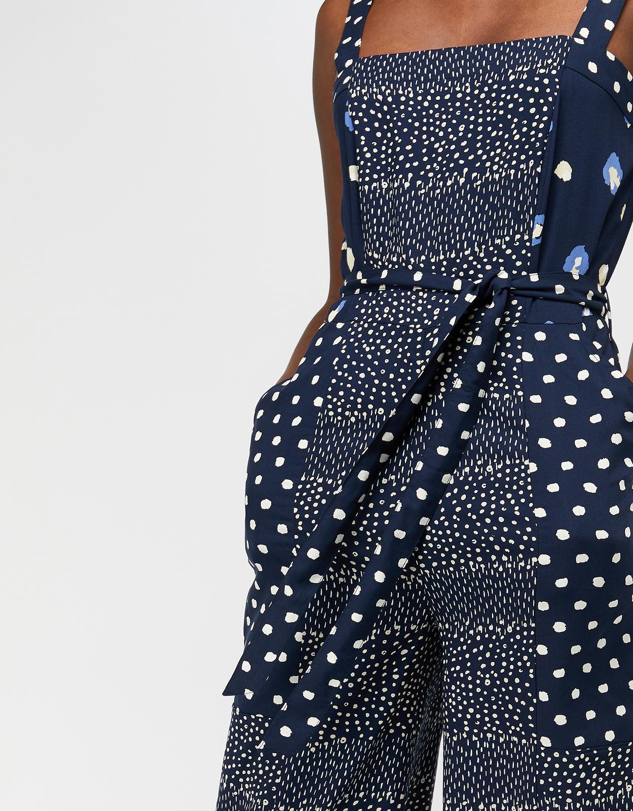 d04916cc3d ... Edie Print Crop Jumpsuit - Lyst. View fullscreen