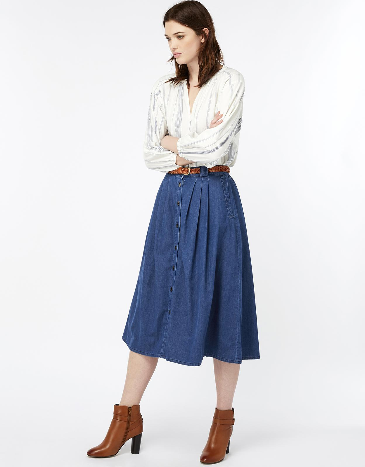 1f347a5899 Gallery. Previously sold at: Monsoon · Women's Denim Skirts