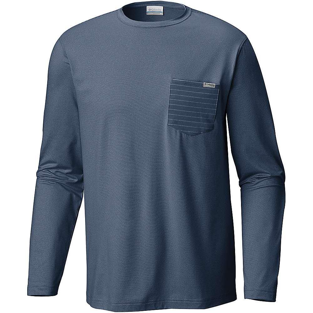 381b0b66401 Lyst - Columbia Slack Tide Pocket Ls Shirt in Blue for Men