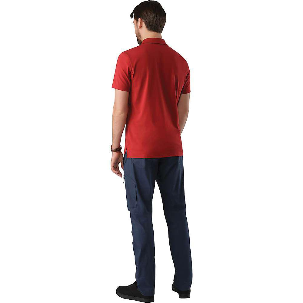 2b3136e827 Lyst - Arc'teryx Chilco Ss Polo in Red for Men