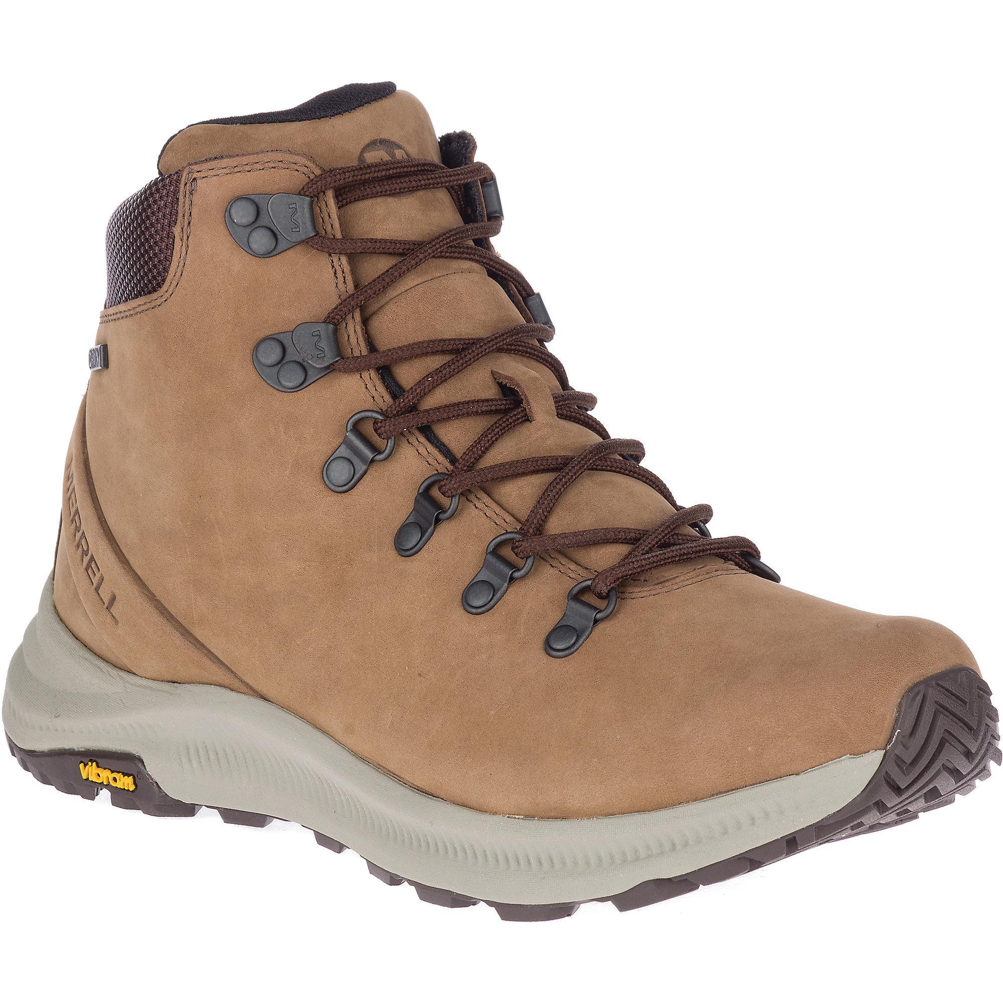 873cf825a70 Merrell Ontario Mid Waterproof Shoe in Brown for Men - Lyst