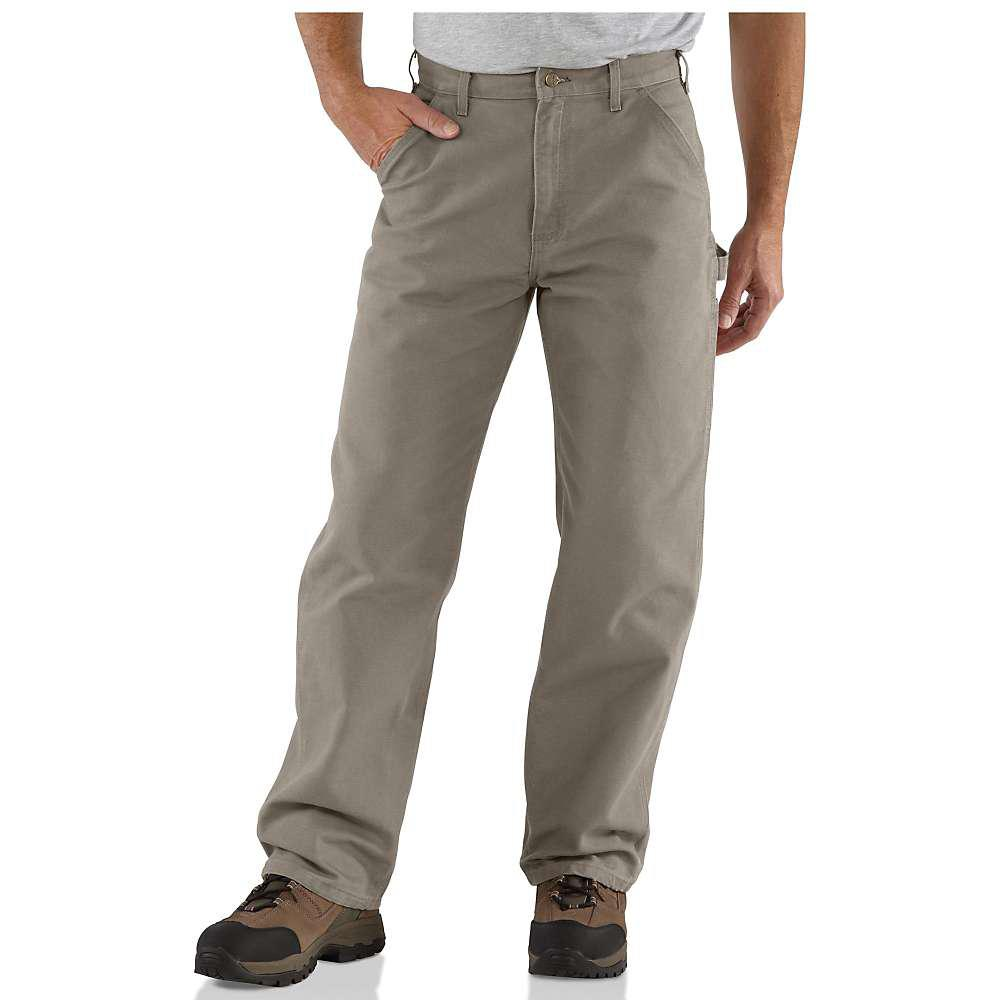 1dce0eca684d Lyst - Carhartt Washed-duck Work Dungaree Pant in Gray for Men