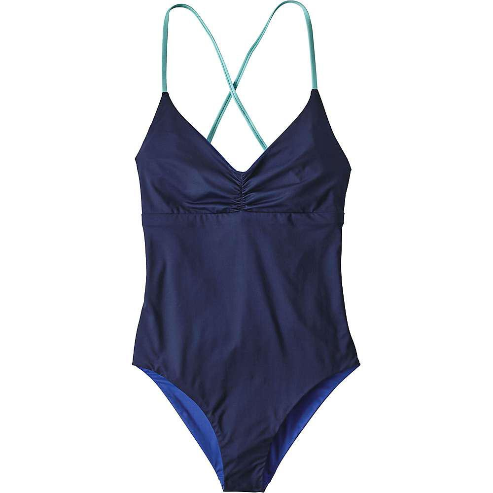 0327b6c7e0376 Lyst - Patagonia Reversible One Piece Kupala Swimsuit in Blue