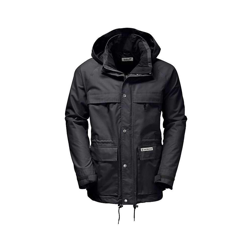 a9f2fb4b97 Lyst - Jack Wolfskin Rainy Days Parka in Black for Men