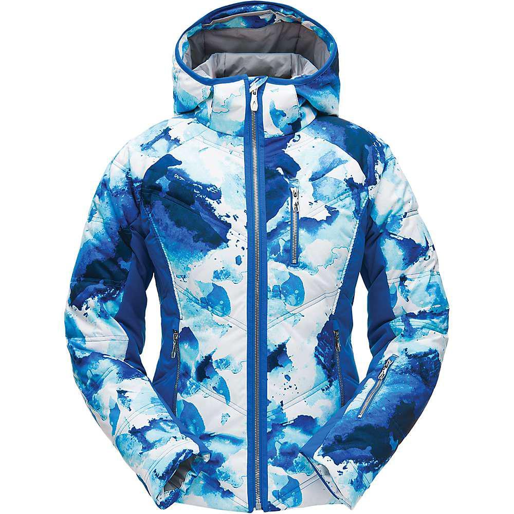 69a3895a2 Lyst - Spyder Fleur Jacket in Blue