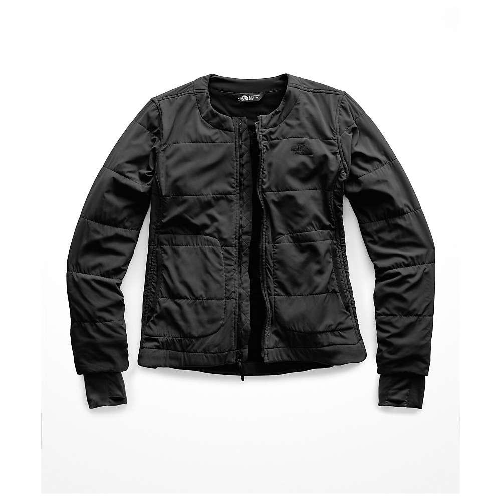The North Face. Women s Black Mountain Sweatshirt Collarless Full Zip Jacket 126055db1