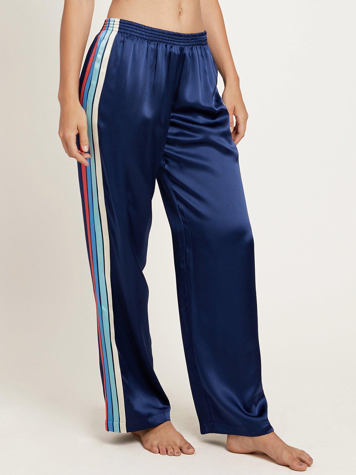 Ella trousers - Blue Morgan Lane GFHADbKfJW