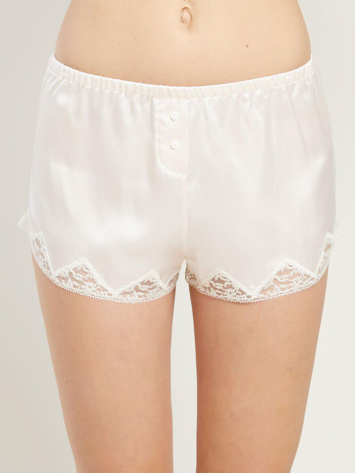 lace Josephine shorts - White Morgan Lane KrFWEO5