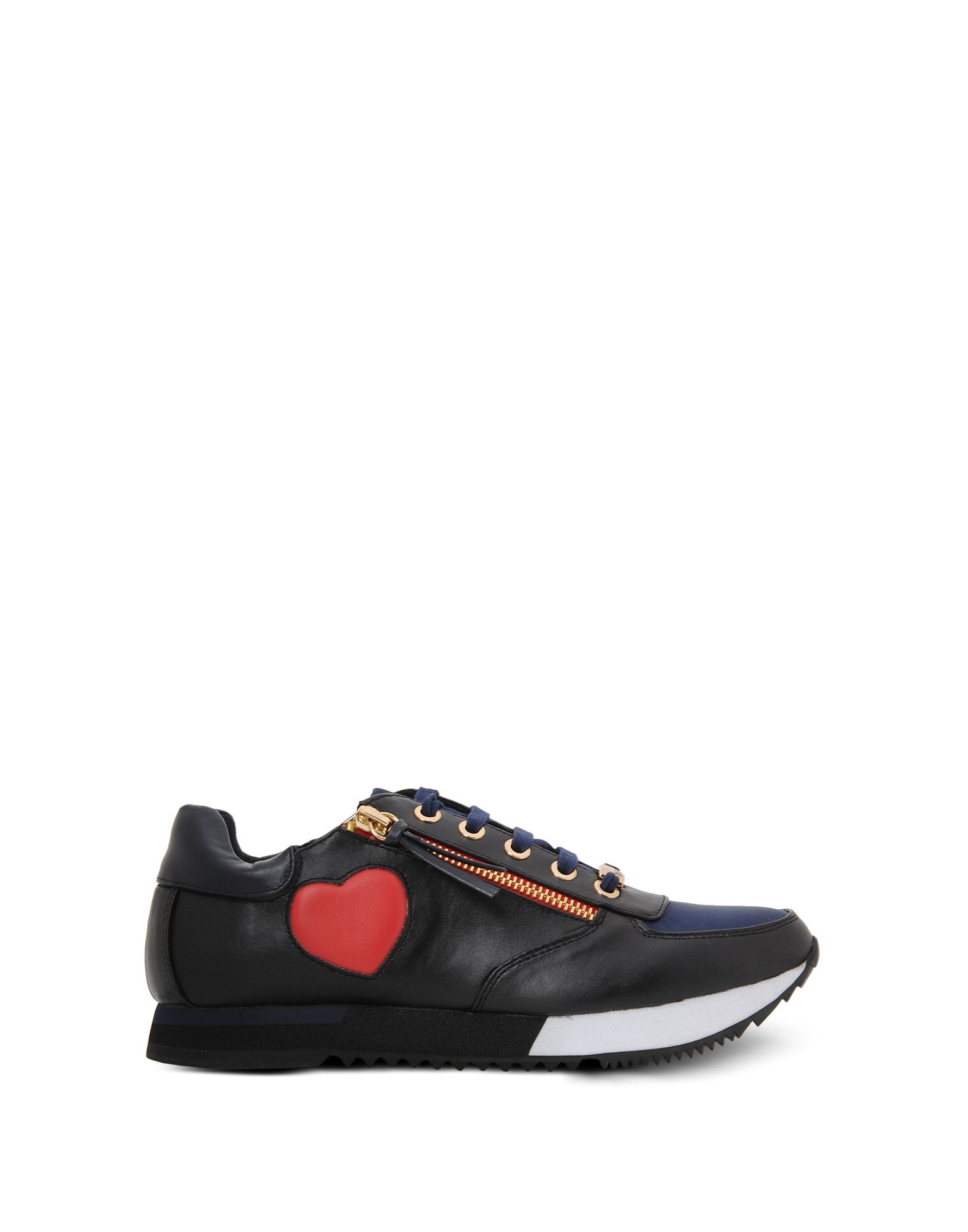 Love Moschino Sneakers In Black Lyst
