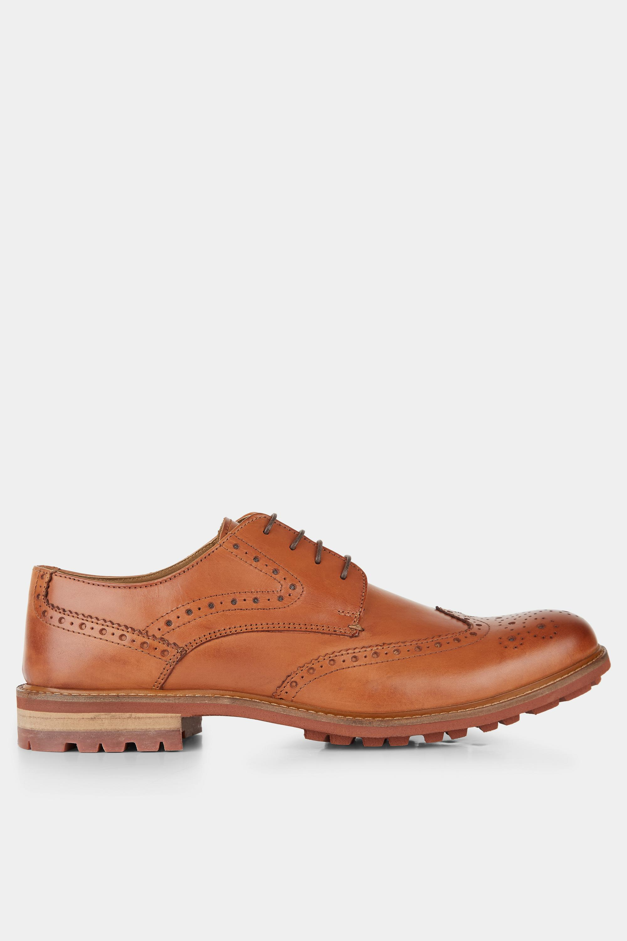 Men's Bray Tan Lightweight Brogue