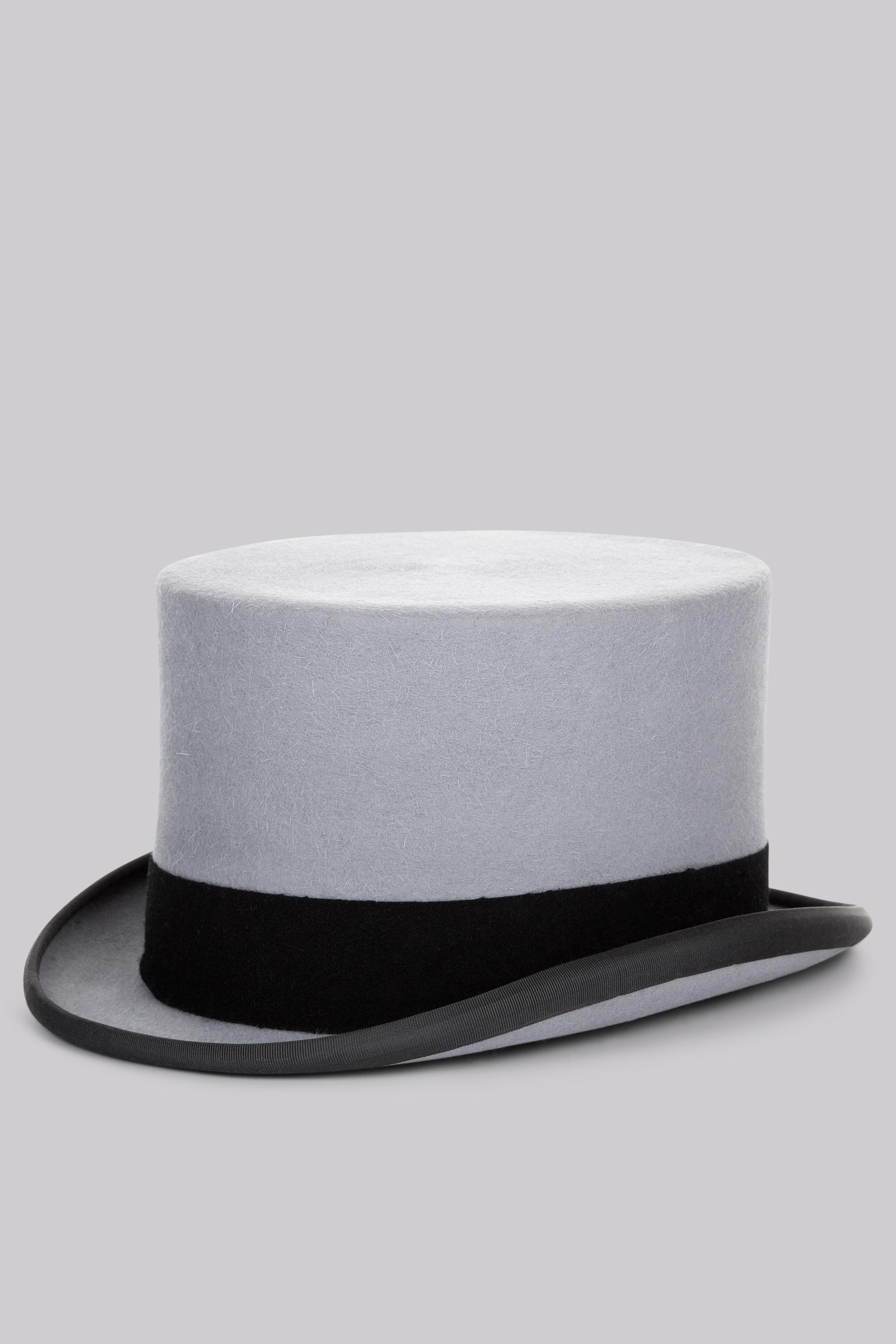 078eb32265f Moss Bros . Grey Ascot Top Hat in Gray for Men - Lyst