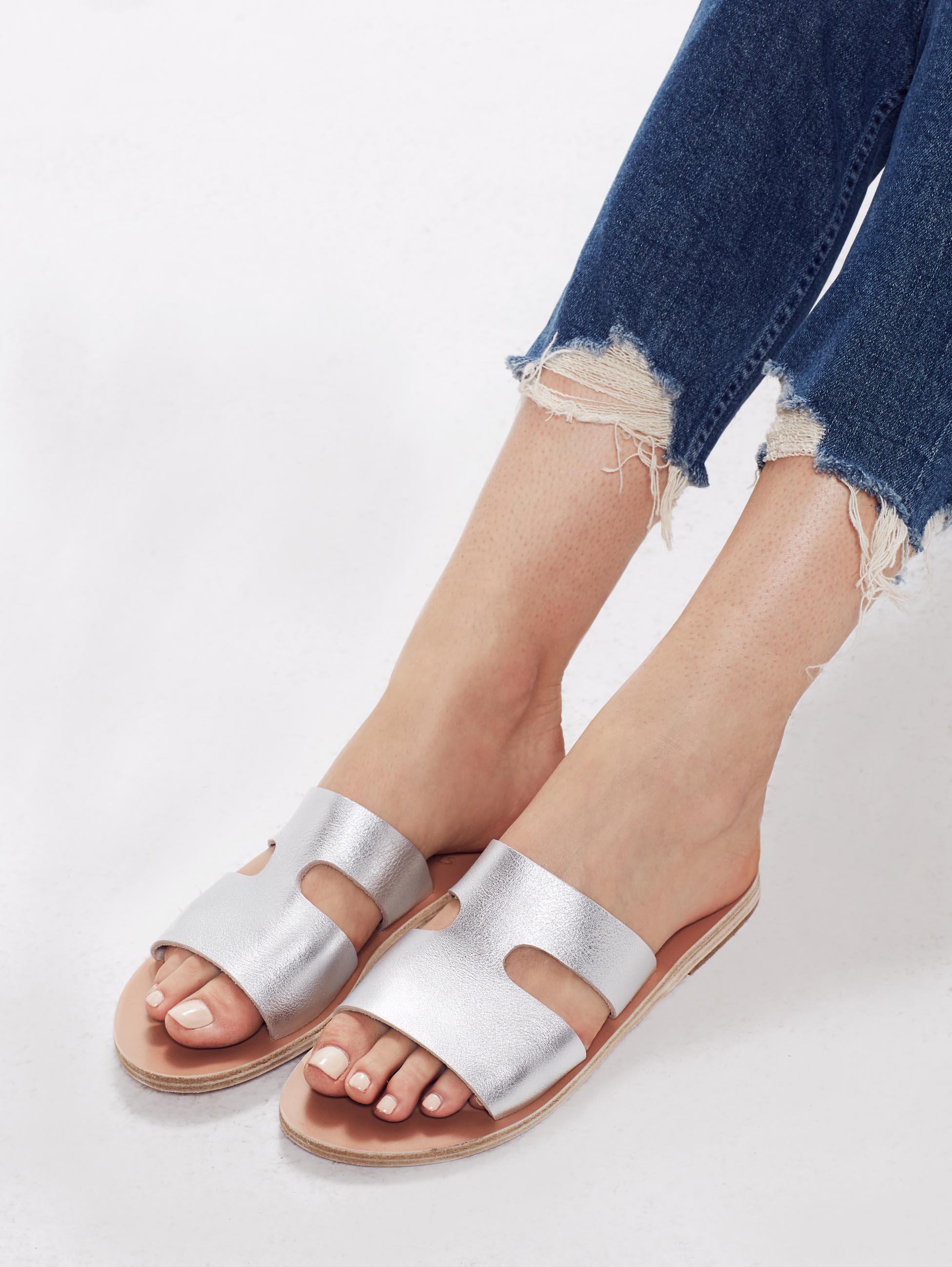Apteros sandals - Metallic Ancient Greek Sandals dv3IJzquJ