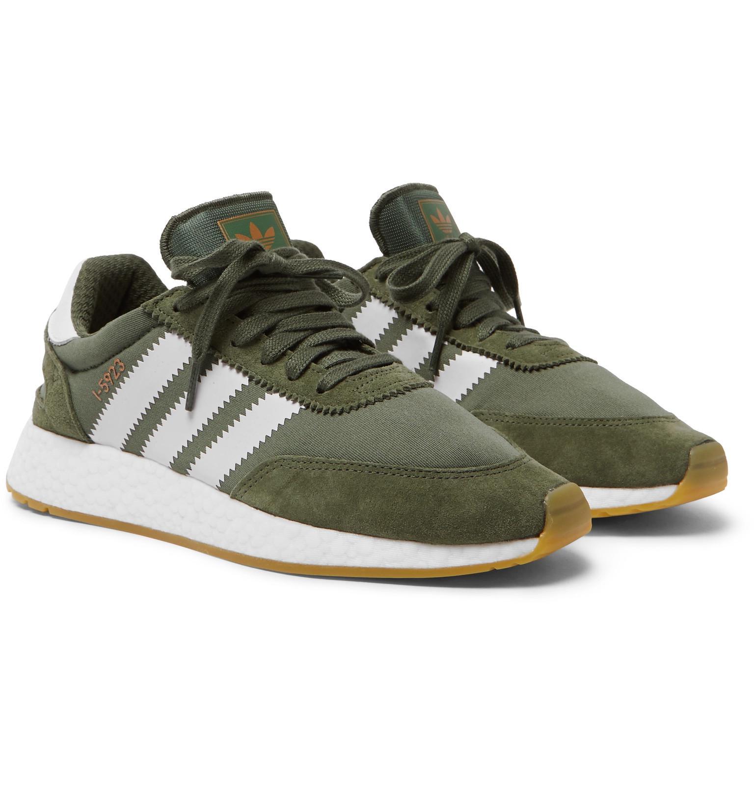I-5923 Suede-trimmed Neoprene Sneakers adidas Originals iYlcJRl24w