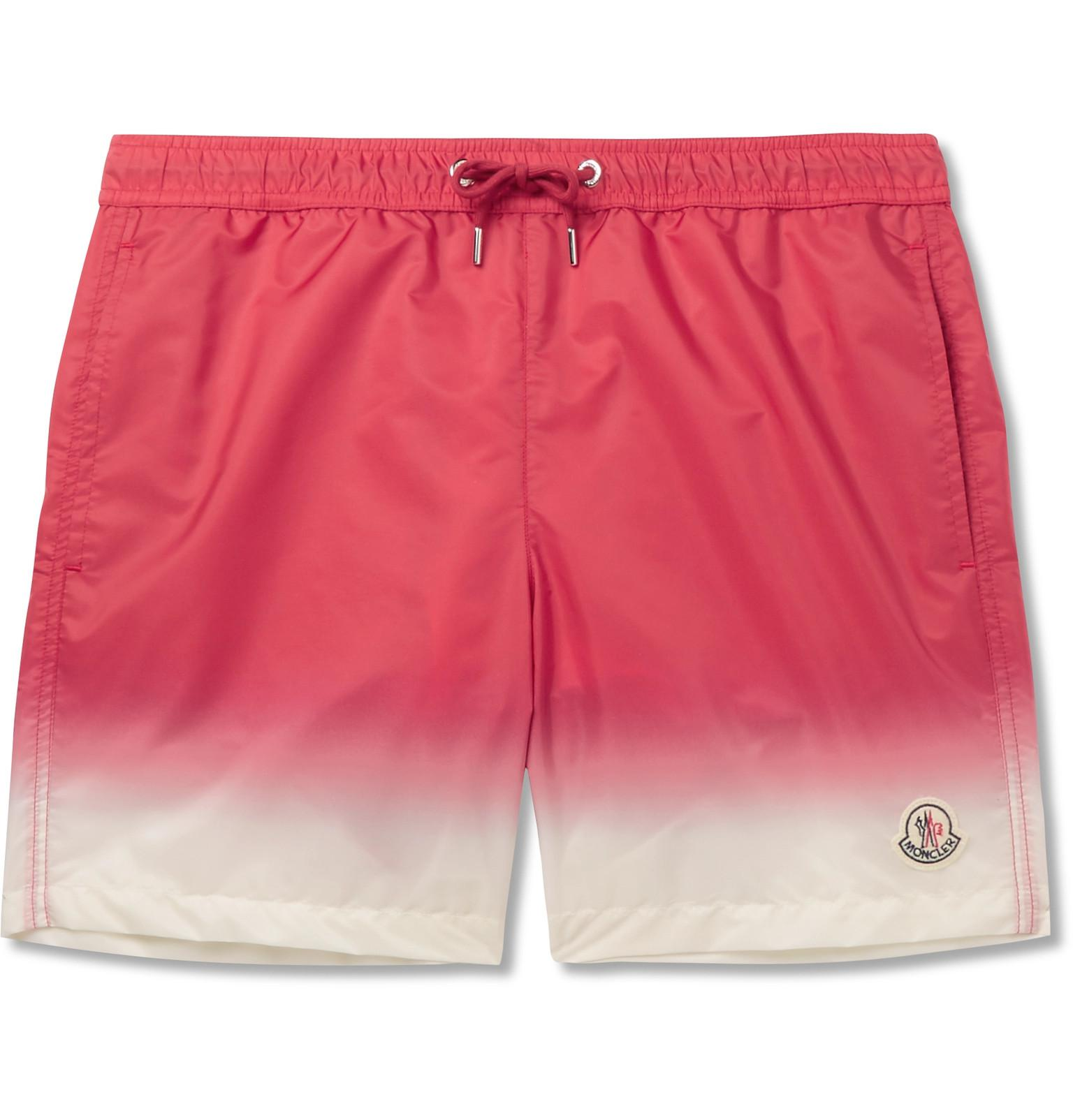 Cheap Low Price Mid-length Grosgrain-trimmed Swim Shorts Moncler Extremely Sale Online Manchester Sale Online Discounts OLYKqTC