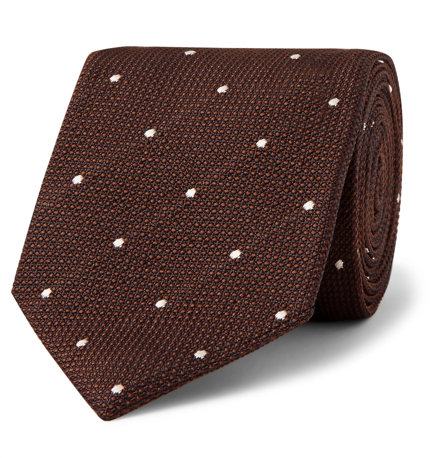 8cm Dogtooth Silk-jacquard Tie Kingsman Buy Cheap Shop Offer Enjoy For Sale Buy Cheap Latest Collections F75ka0Hv