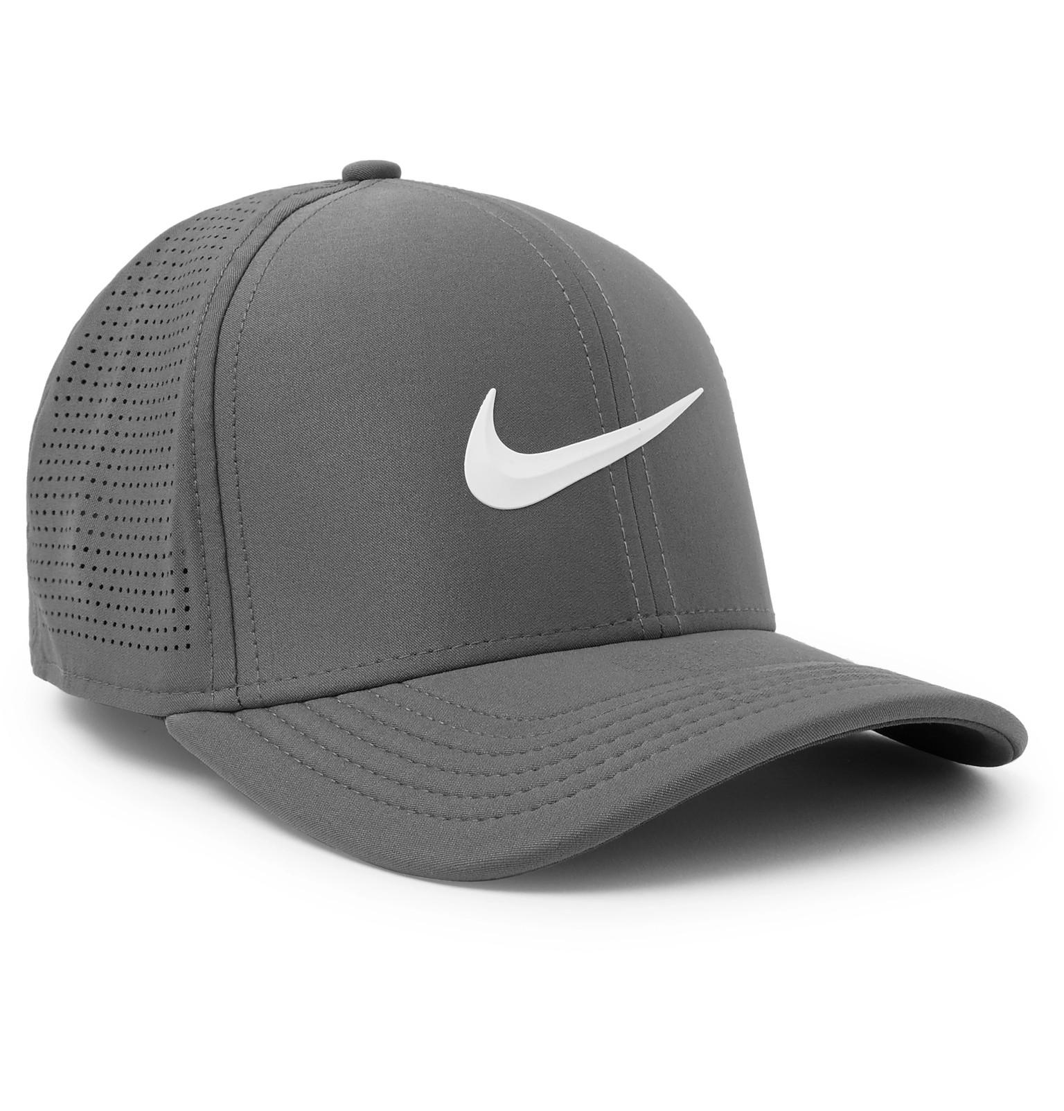 ffdbf5619ec6d ... new zealand nike aerobill classic 99 perforated dri fit cap in gray for men  lyst af938