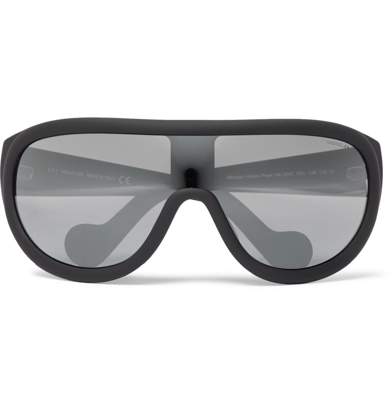Moncler Acetate Ski Sunglasses - Black oZS5B5