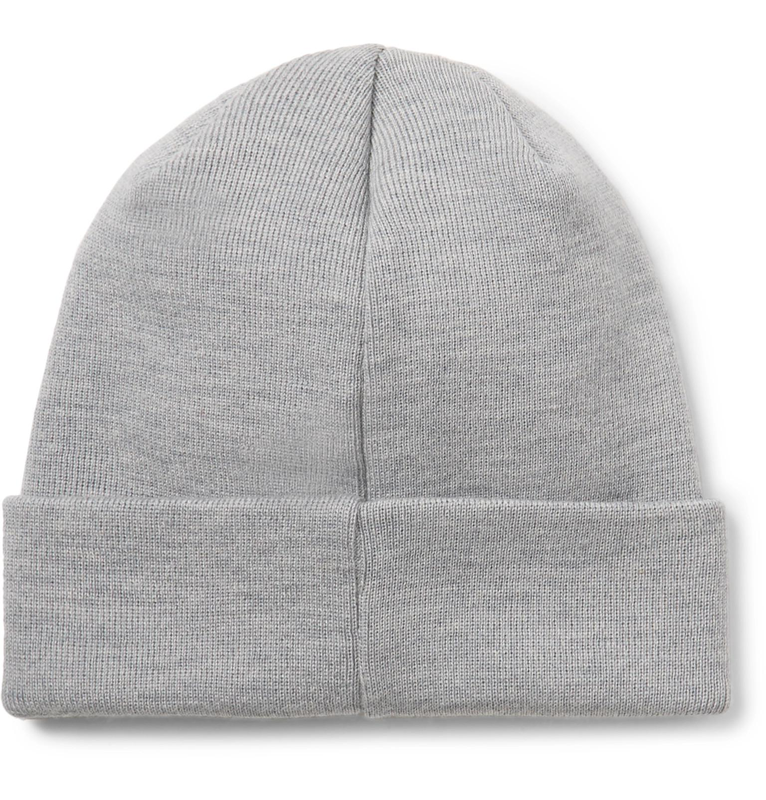 f32398ce0c4 Lyst - Norse Projects Ribbed Merino Wool Beanie in Gray for Men