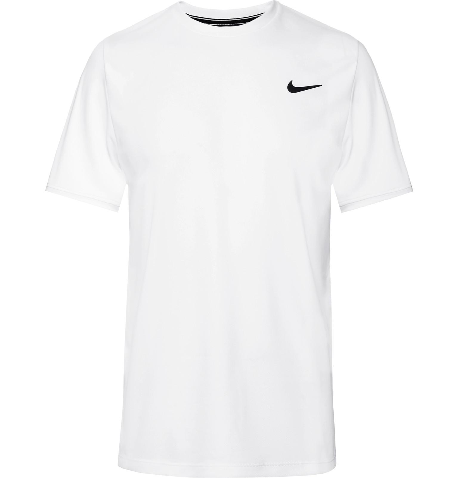 80dfd5da1 Lyst - Nike Nikecourt Dri-fit Tennis T-shirt in White for Men