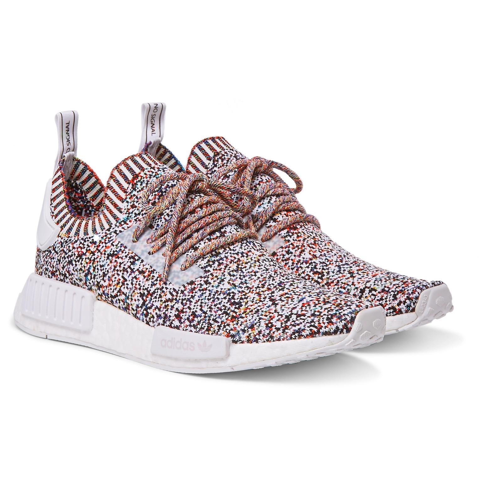 sale retailer 345f3 cc527 Lyst - adidas Originals Nmd R1 Primeknit Sneakers for Men