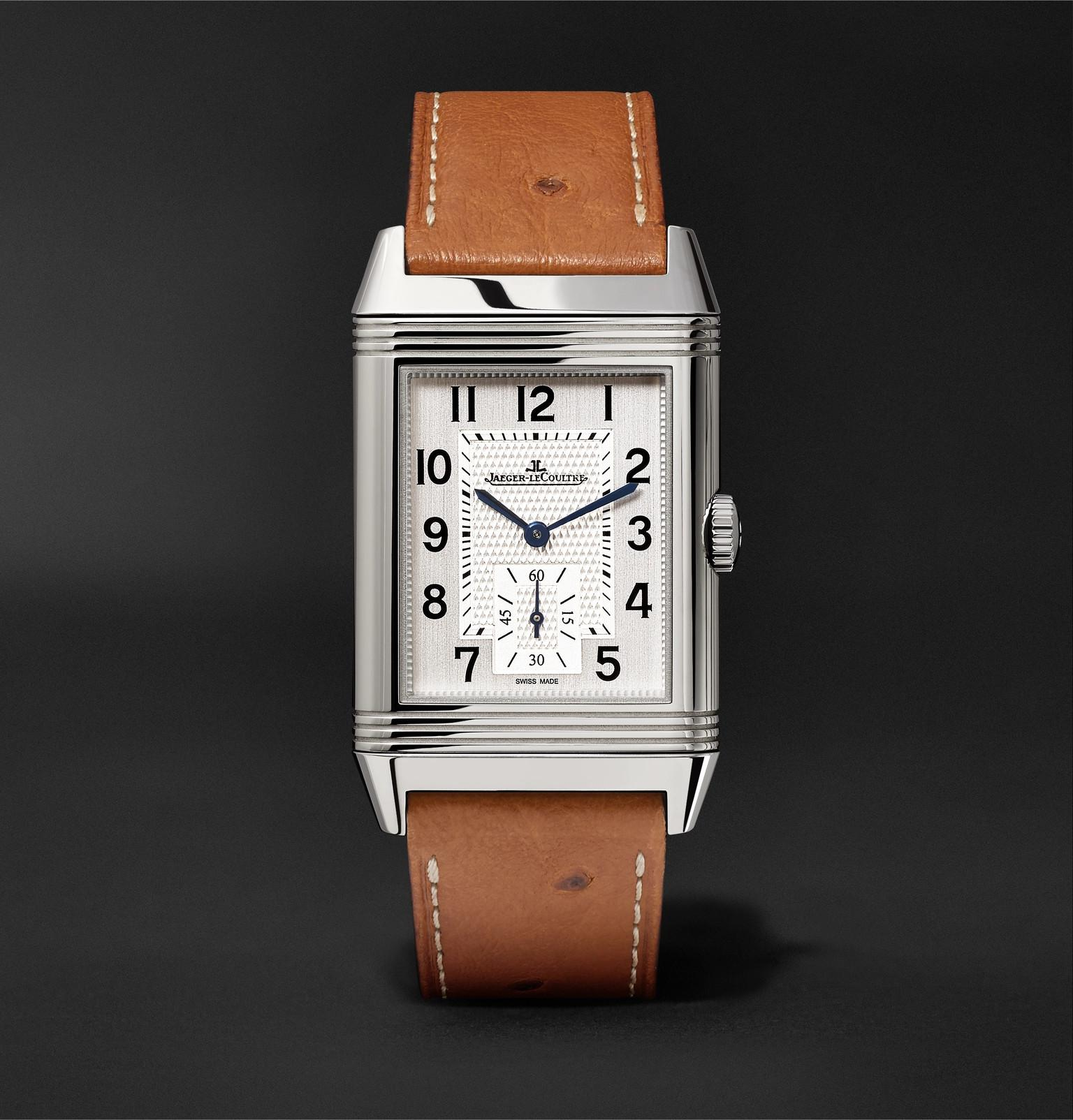 f8fa1a46ced Lyst - Jaeger-lecoultre Reverso Classic Large 27mm Stainless Steel ...