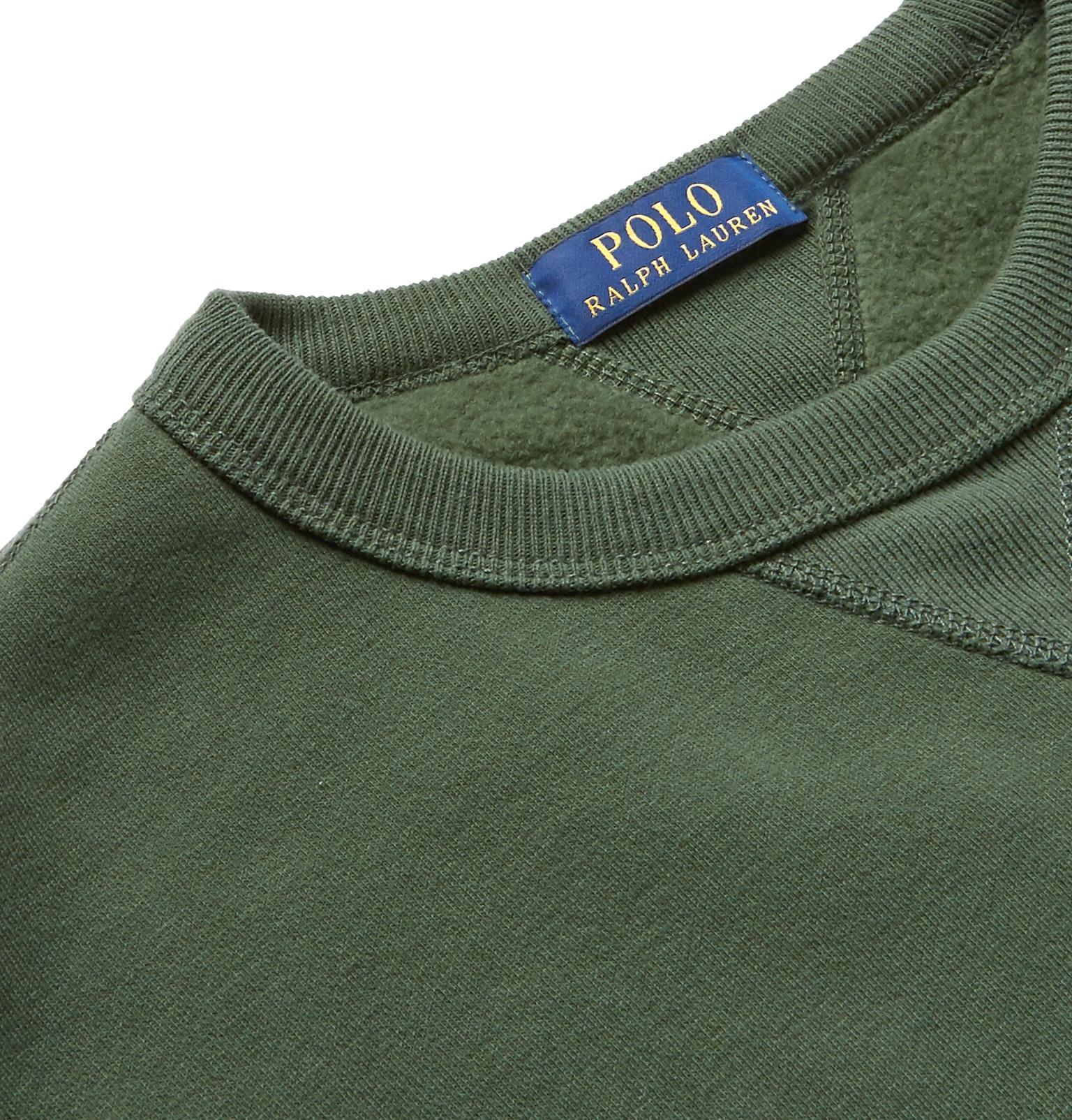 Fleece Blend Ralph Jersey Cotton Back In Sweatshirt Lauren Polo wqHdEXxgg