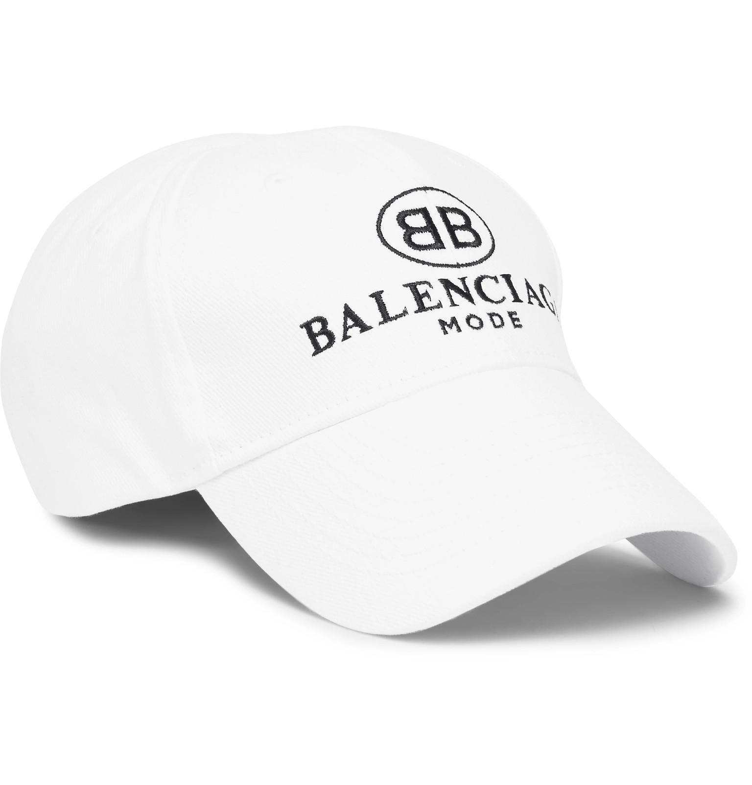 Mens Cotton Twill Baseball Cap Balenciaga tPtBh