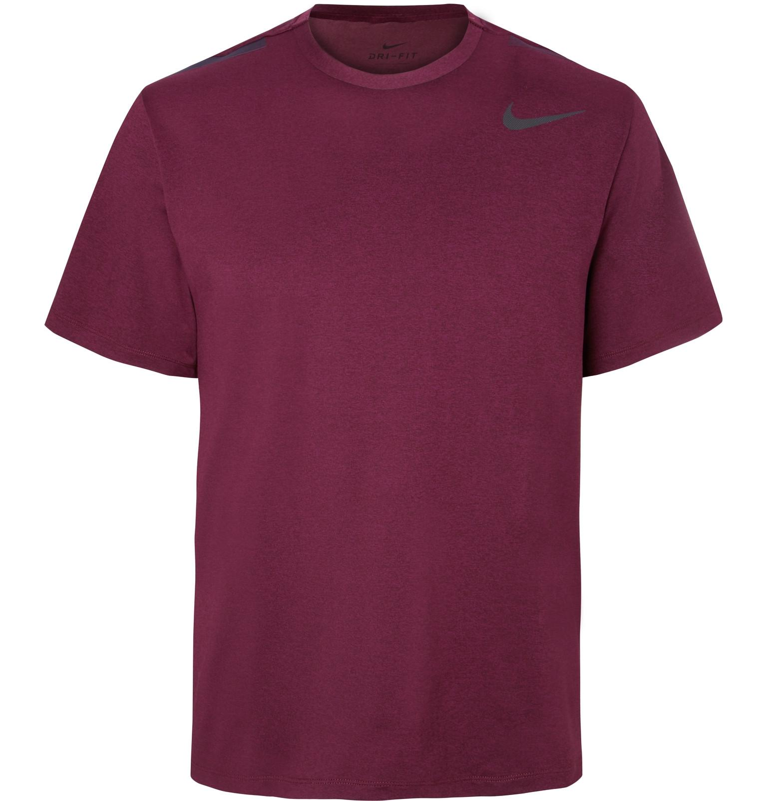 bafe223e57f Nike Hypermax Mélange Dri-fit T-shirt in Purple for Men - Lyst