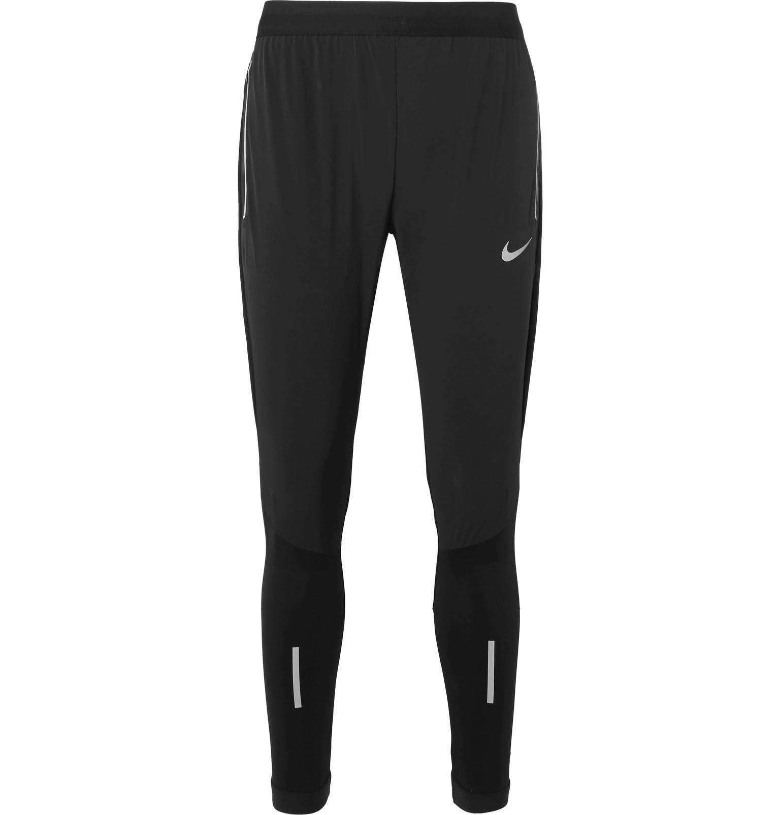 0bbe60d1e7fb Lyst - Nike Flex Swift Jersey Sweatpants in Black for Men