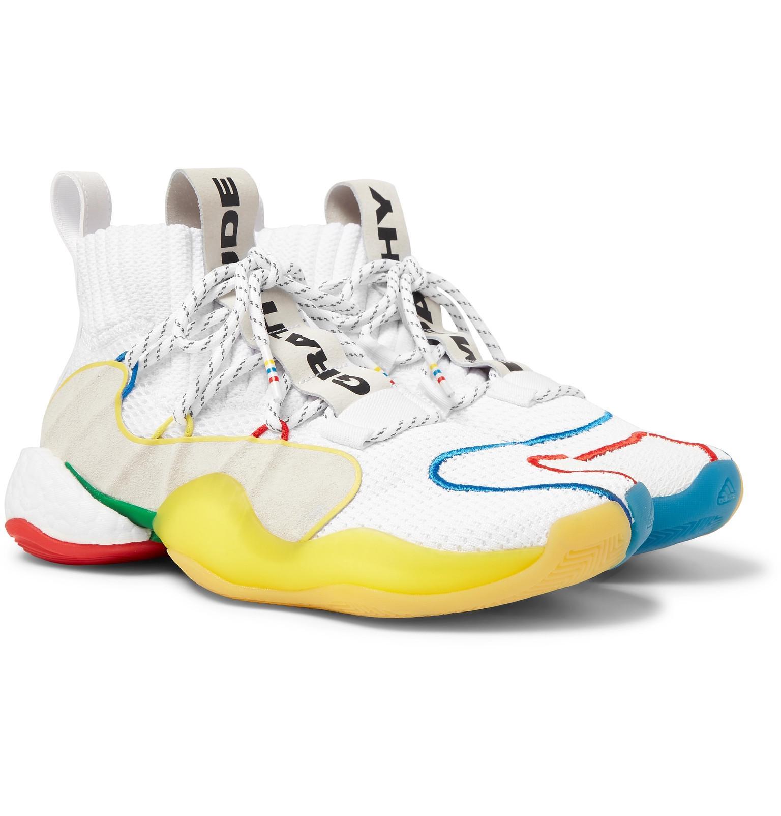 cb2a212b4 adidas Originals + Pharrell Williams Crazy Byw Lvl X Mesh Sneakers ...
