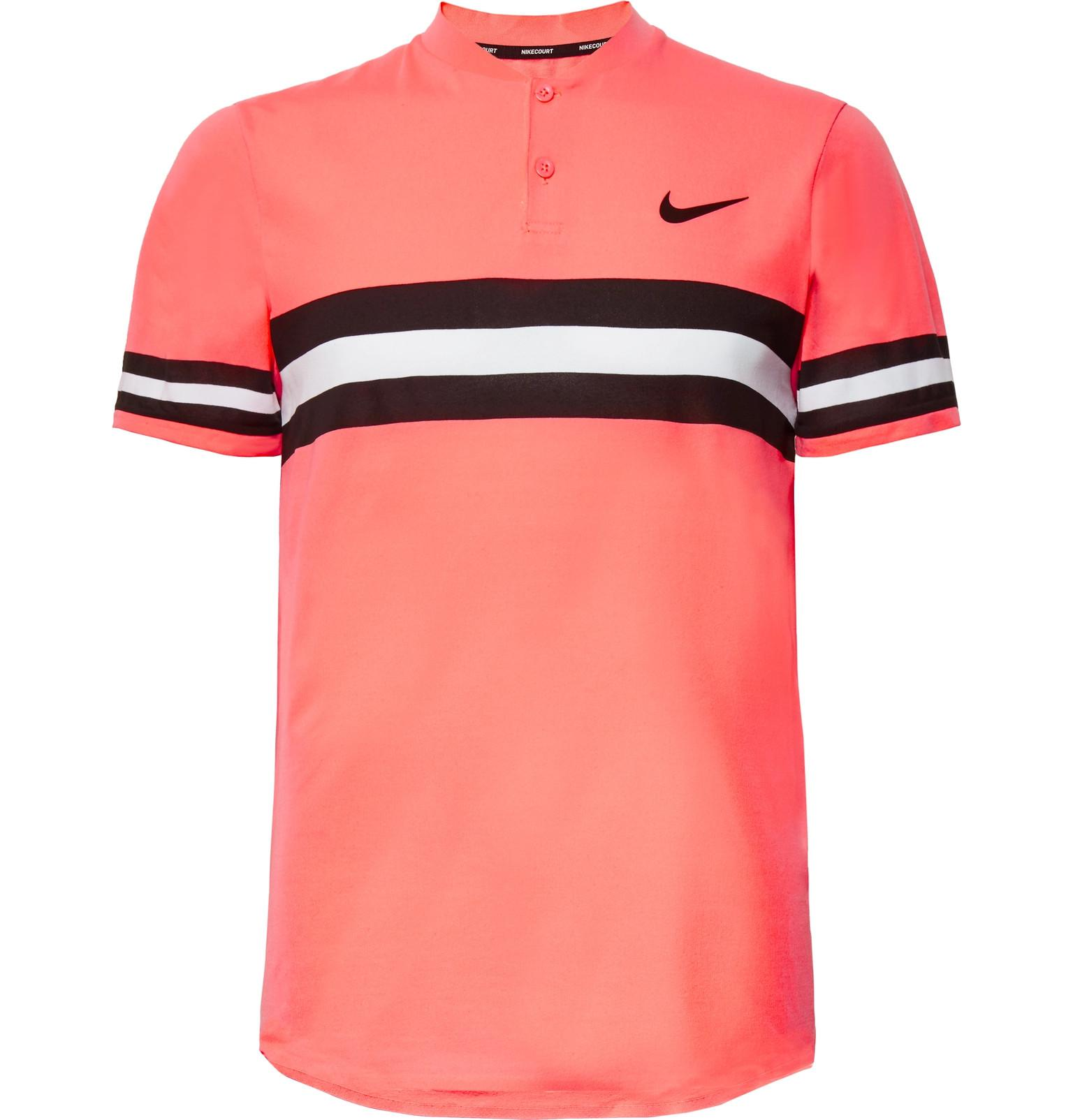 87f6f91f4 Nike Nikecourt Advantage Dri-fit Tennis Polo Shirt in Pink for Men ...