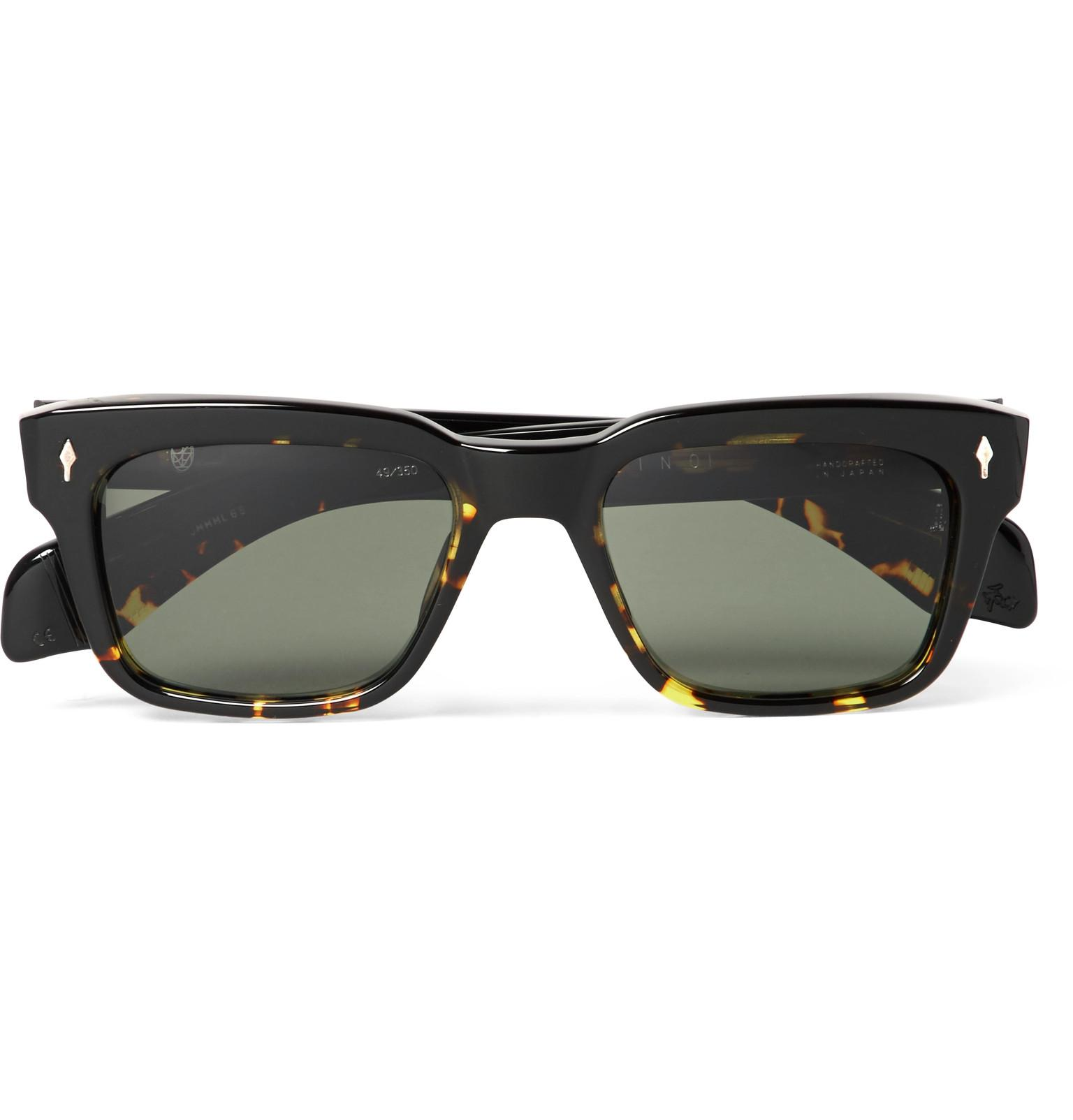 JACQUES MARIE MAGE Molino Rectangular Frame Sunglasses lii807