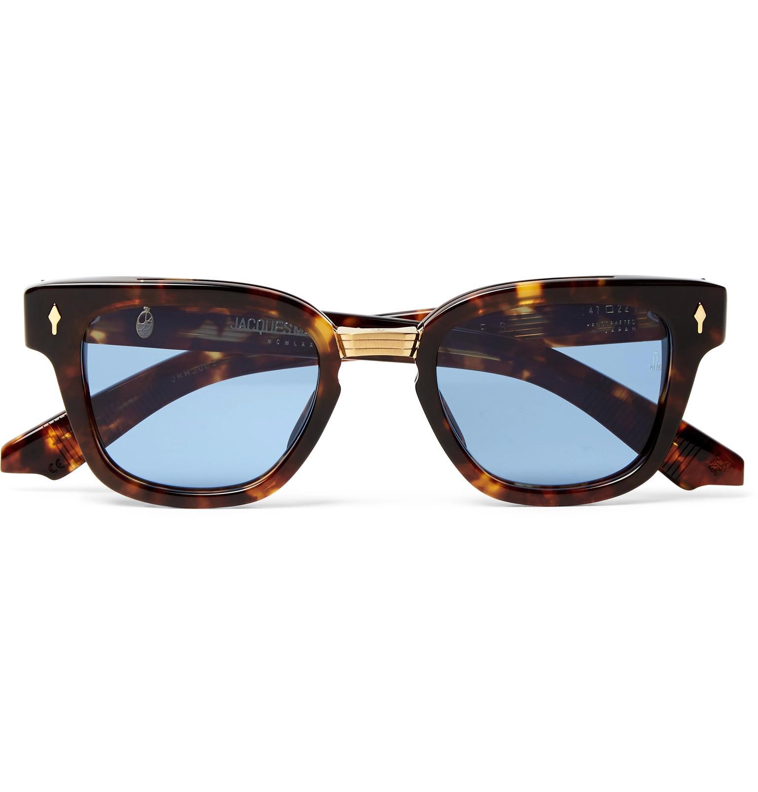 JACQUES MARIE MAGE Torino Square-frame Tortoiseshell Acetate Sunglasses - Tortoiseshell uVyHBxDta8