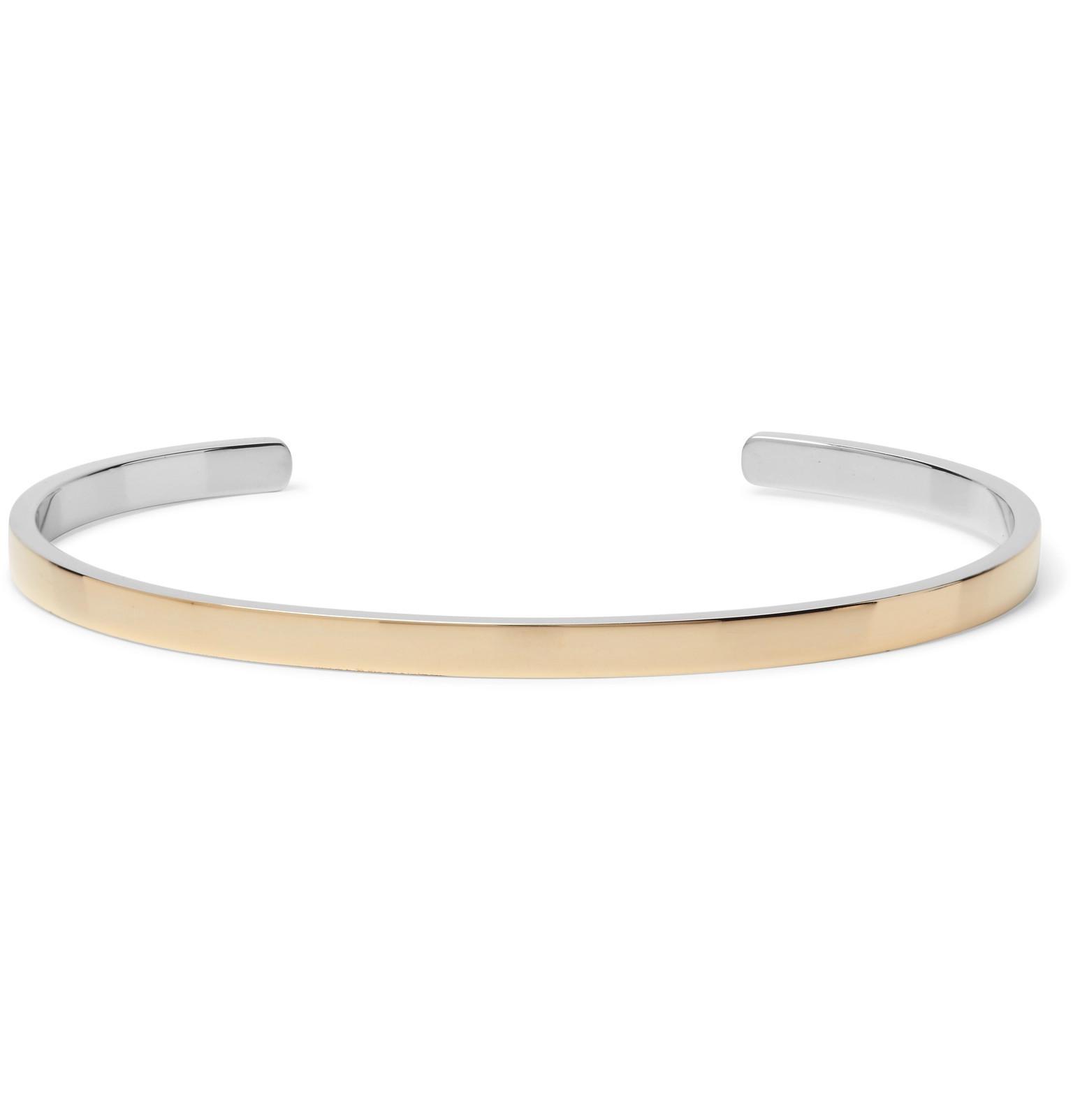 Fusion 14-karat Gold And Sterling Silver Ring Miansai TImIK