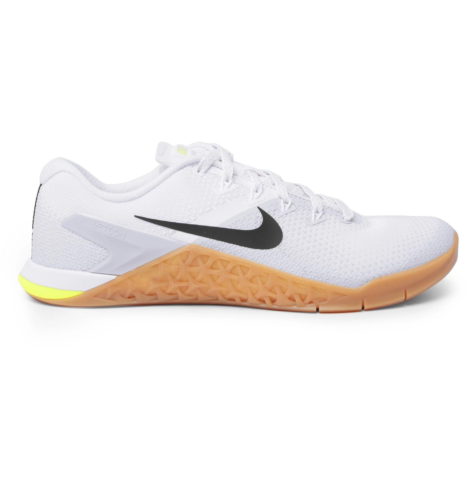 Metcon 4 Rubber-trimmed Mesh Sneakers Nike Z3nzHoi