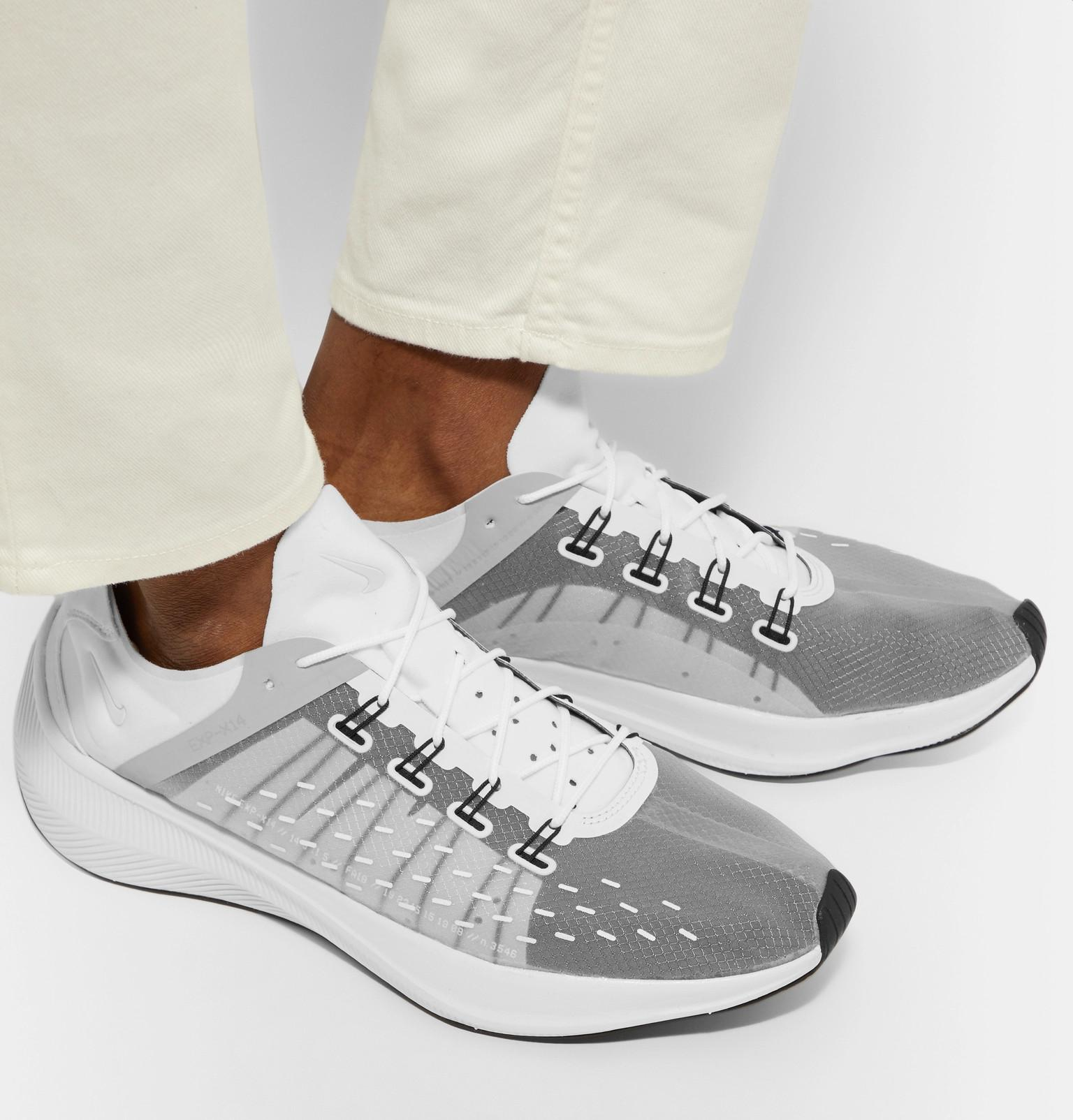 sale retailer 6a458 3a19b Nike Future Fast Racer Exp-x14 Sneakers in White for Men - Lyst
