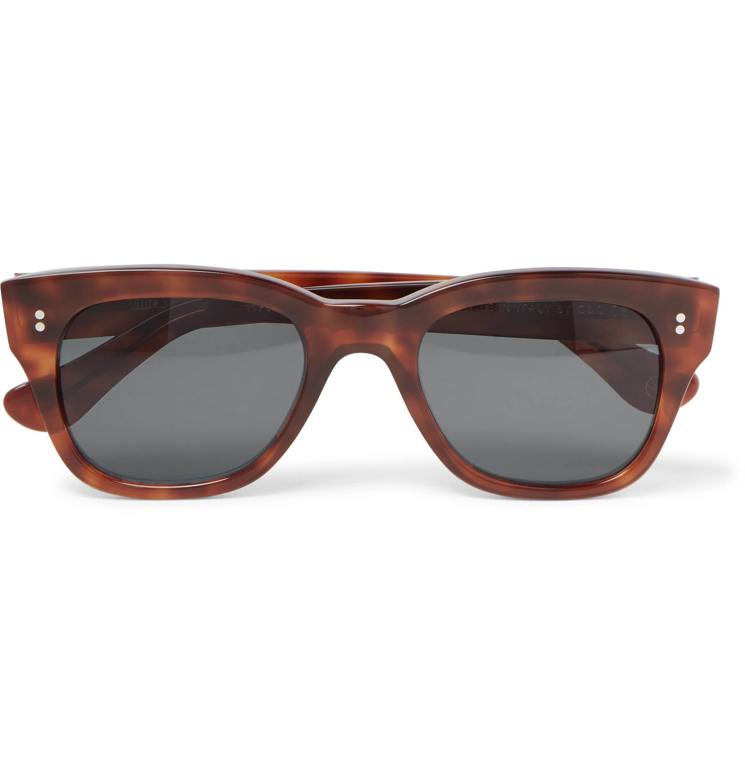 76862a0f31 Kingsman + Cutler And Gross D-frame Tortoiseshell Acetate Sunglasses ...