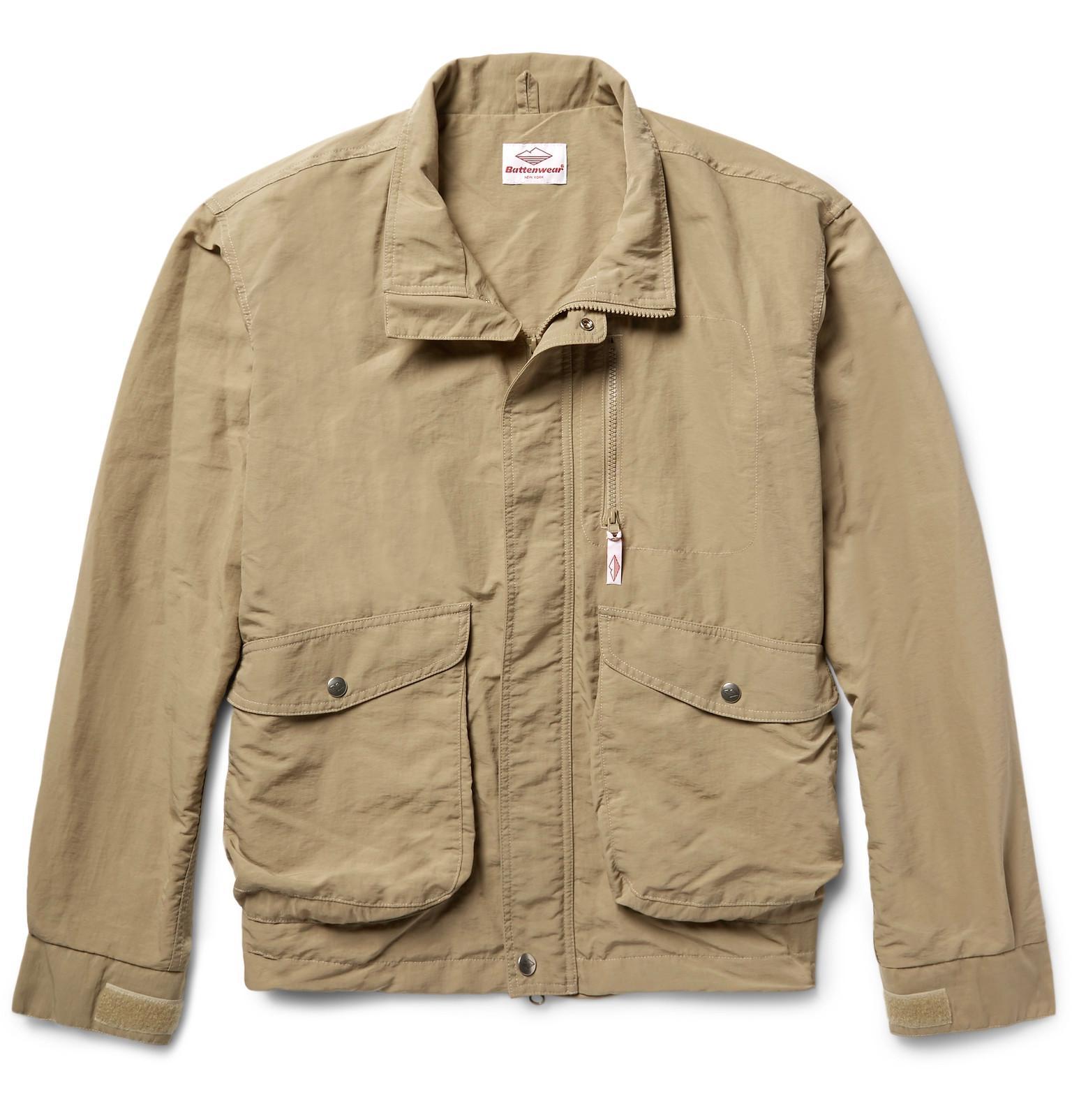 e6e46850b1dd Lyst - Battenwear Weekend Shell Jacket in Natural for Men