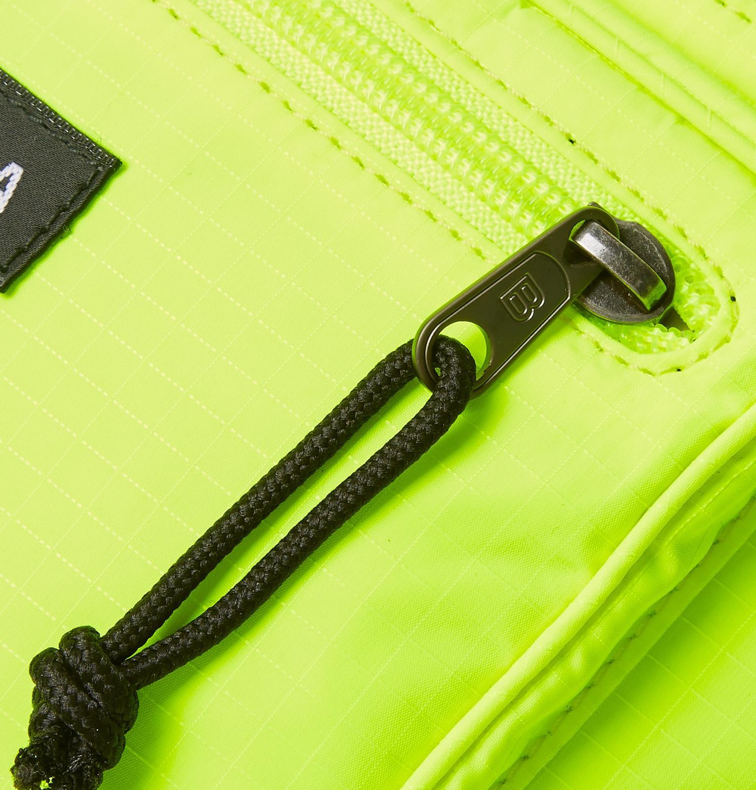 ... buy popular 08044 5e2a1 Balenciaga - Neon Yellow Explorer Cross Body Bag  for Men - Lyst ... ccba5cec7b2e1