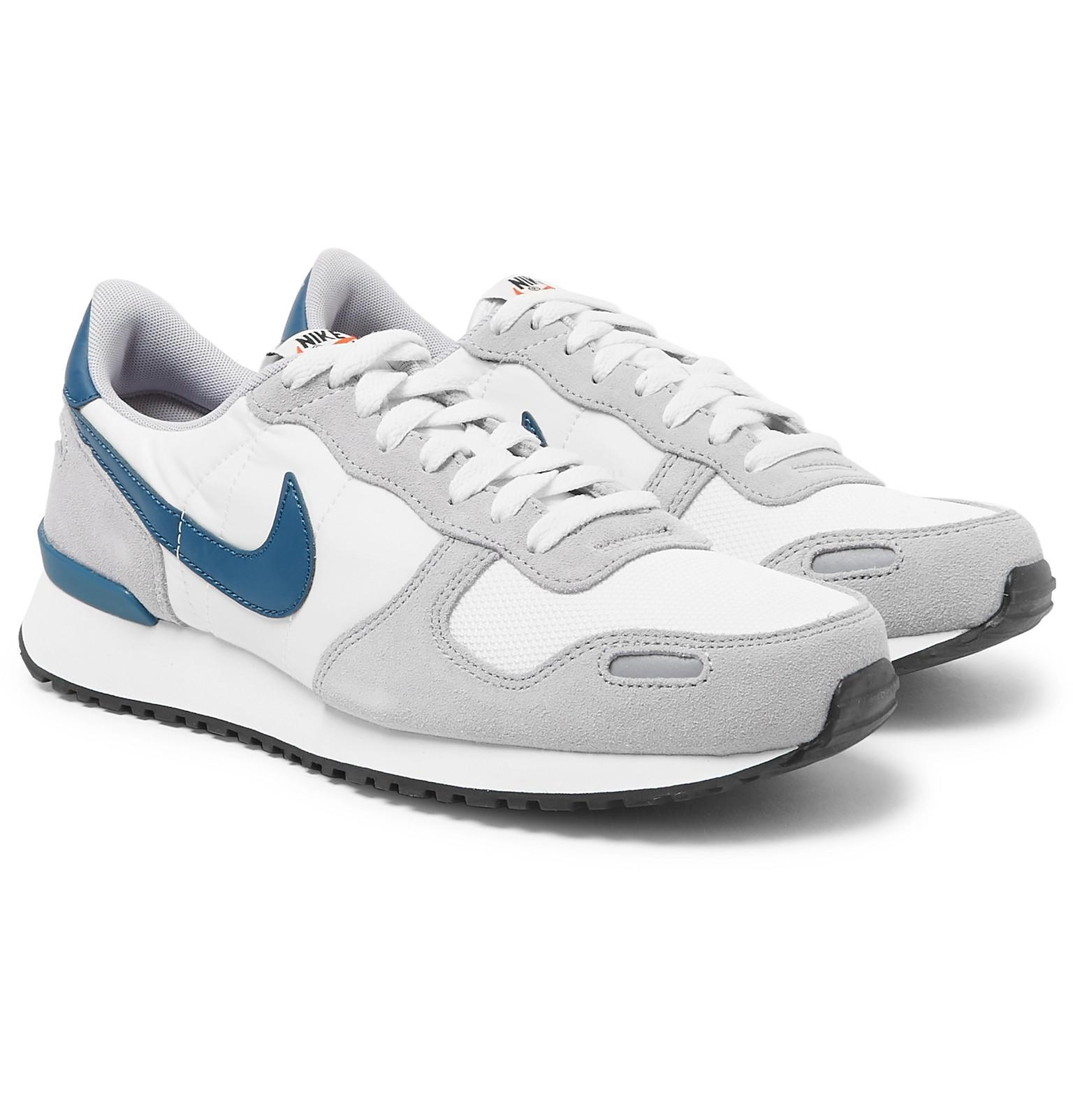 fe5137de20 Nike Air Vortex Leather-trimmed Suede, Nylon And Mesh Sneakers in ...