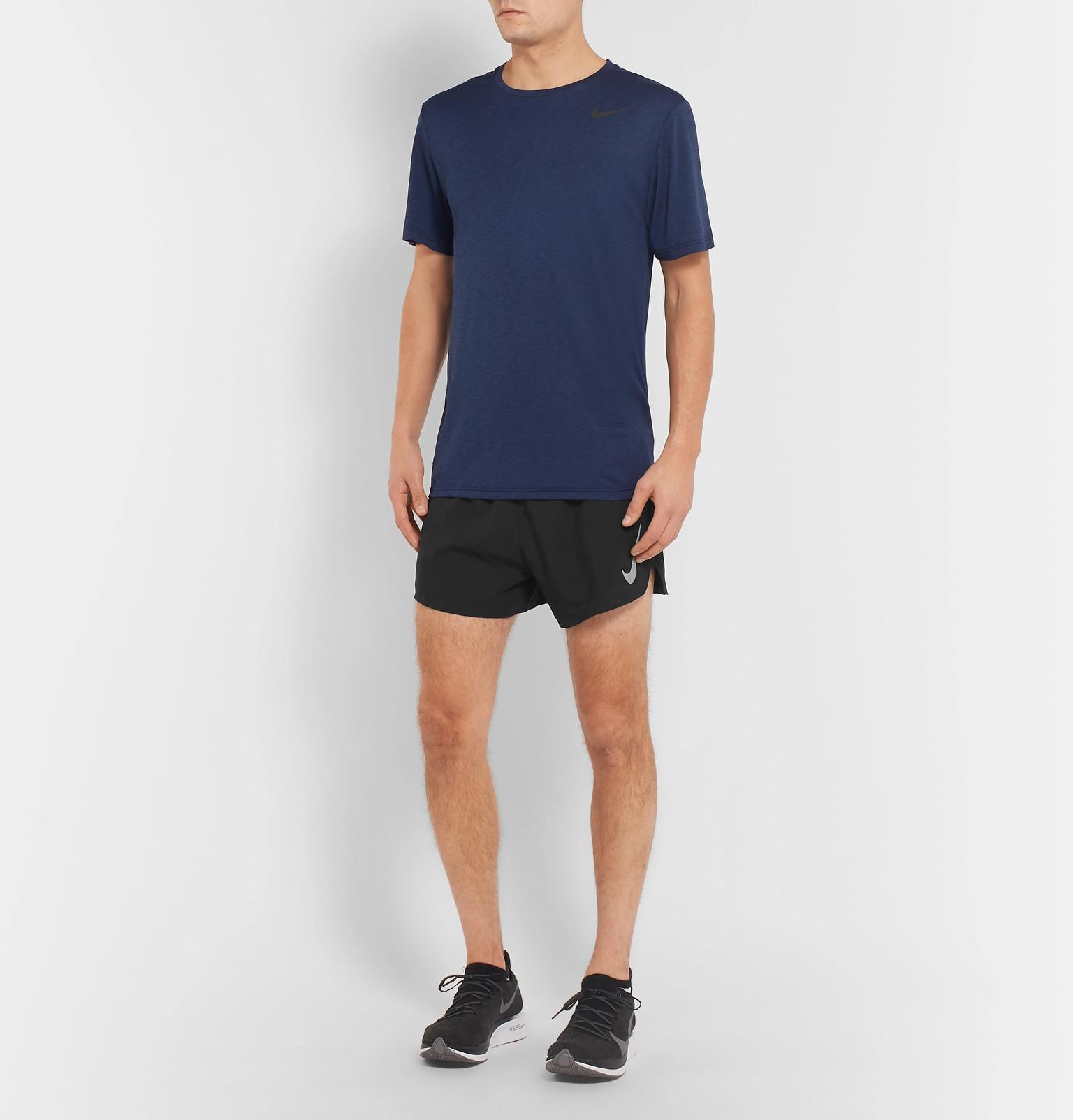 e9c6a995a0277 Nike - Black Aeroswift Shorts for Men - Lyst. View fullscreen