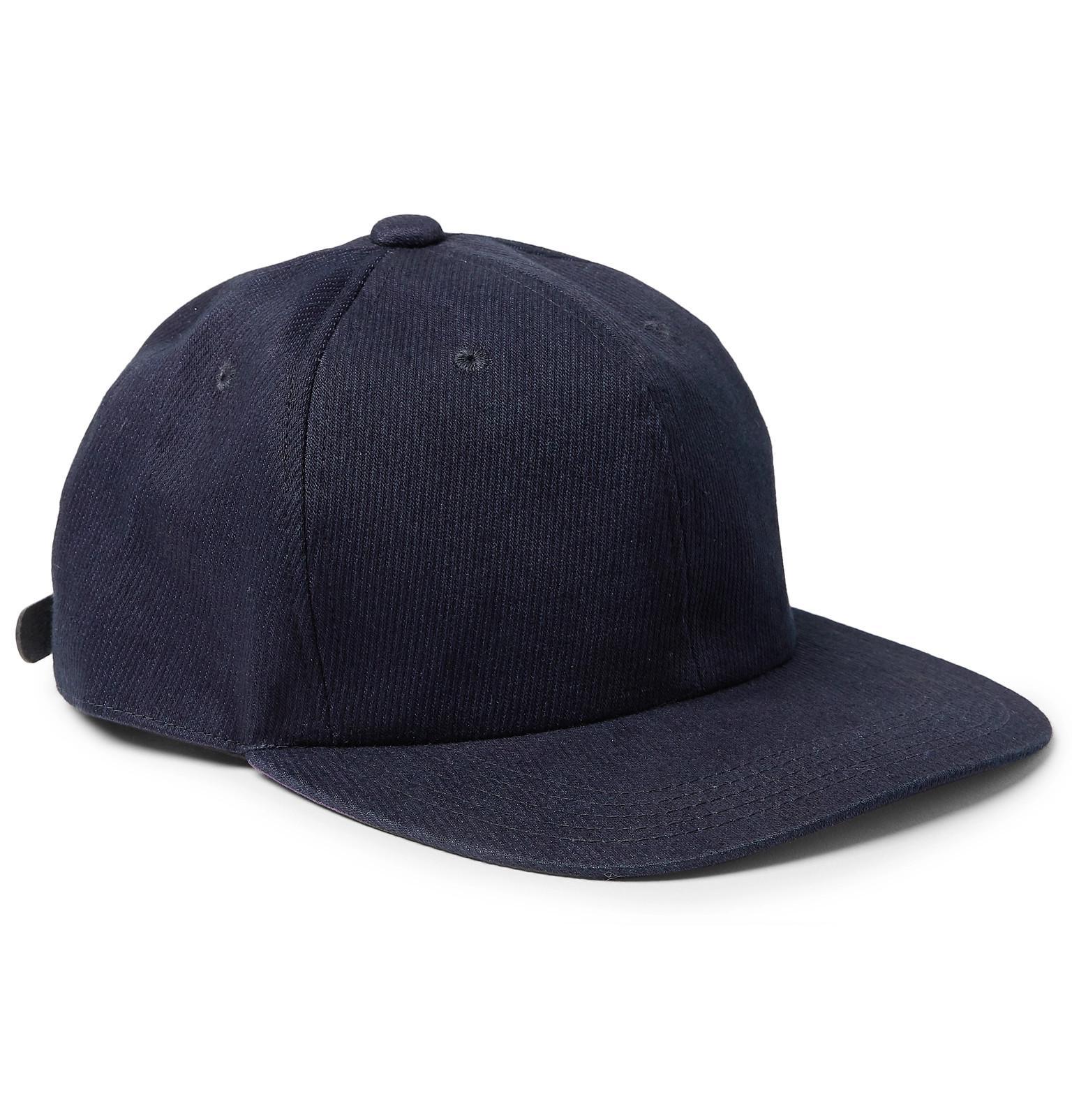 Blue Blue Japan. Men s Blue Cotton-blend Twill Baseball Cap.  105 From MR  PORTER ... 0f1549c59f7