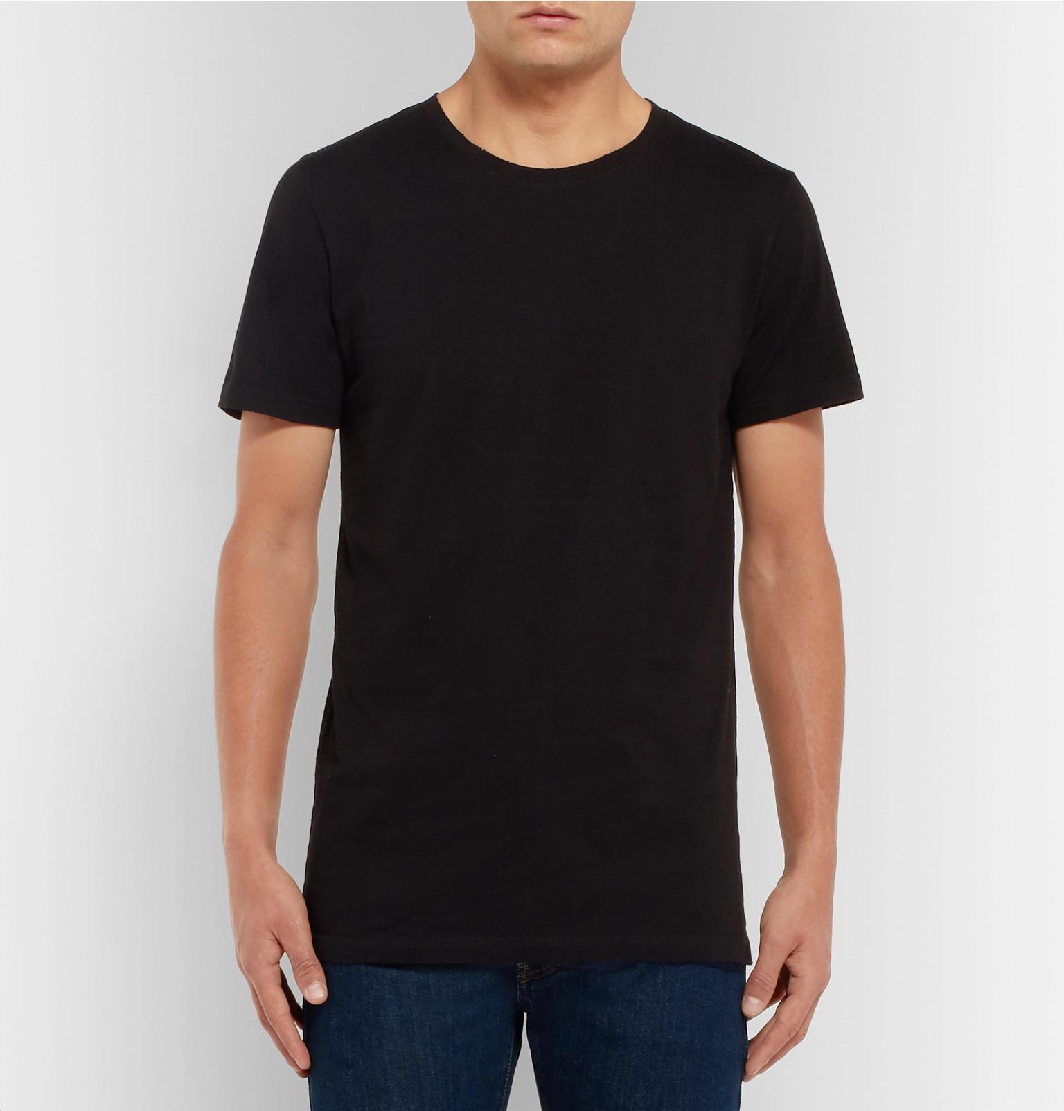 ff6ccc66fa balmain-multi-Three-pack-Slim-fit-Distressed-Cotton-jersey-T-shirts.jpeg