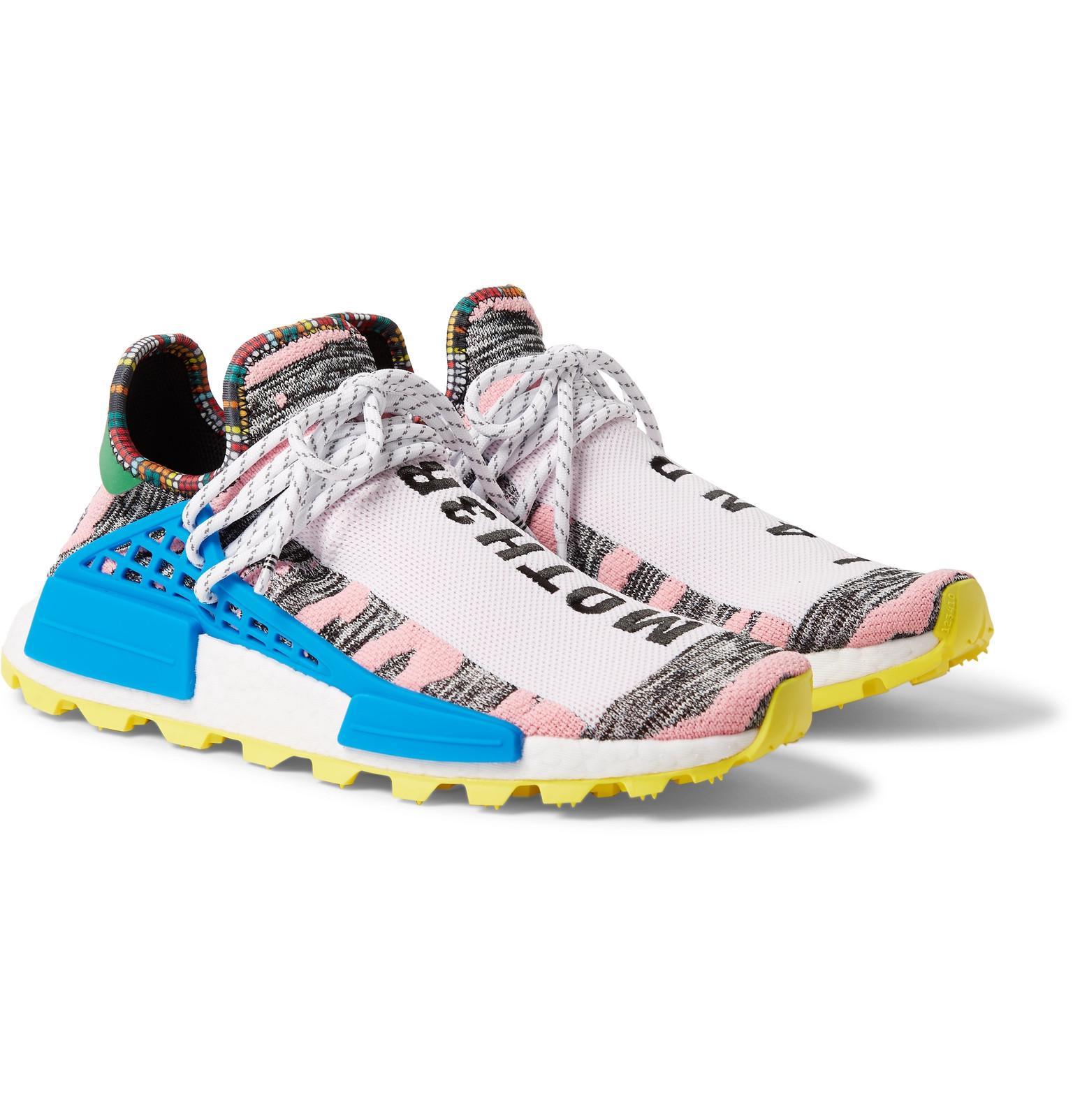 acfc1d31a adidas Originals + Pharrell Williams Solarhu Nmd Primeknit Sneakers ...